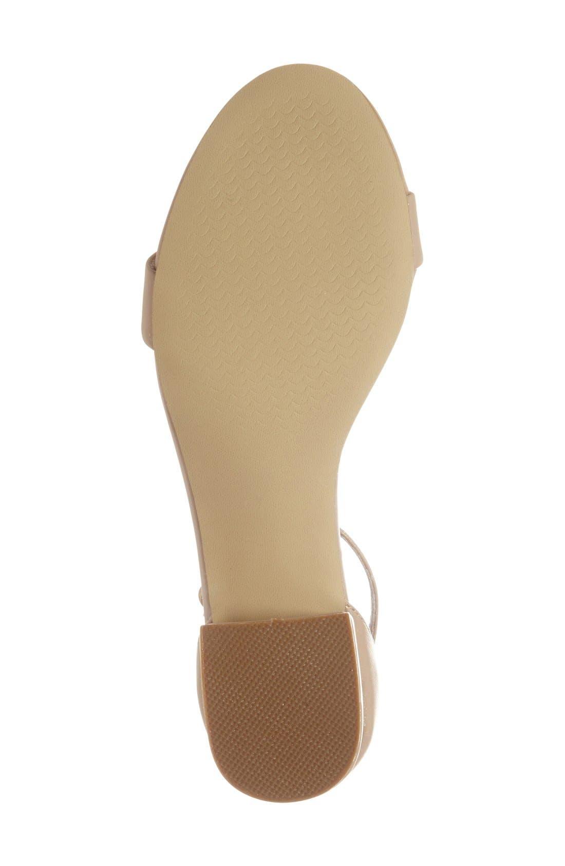 Irenee Ankle Strap Sandal,                             Alternate thumbnail 107, color,