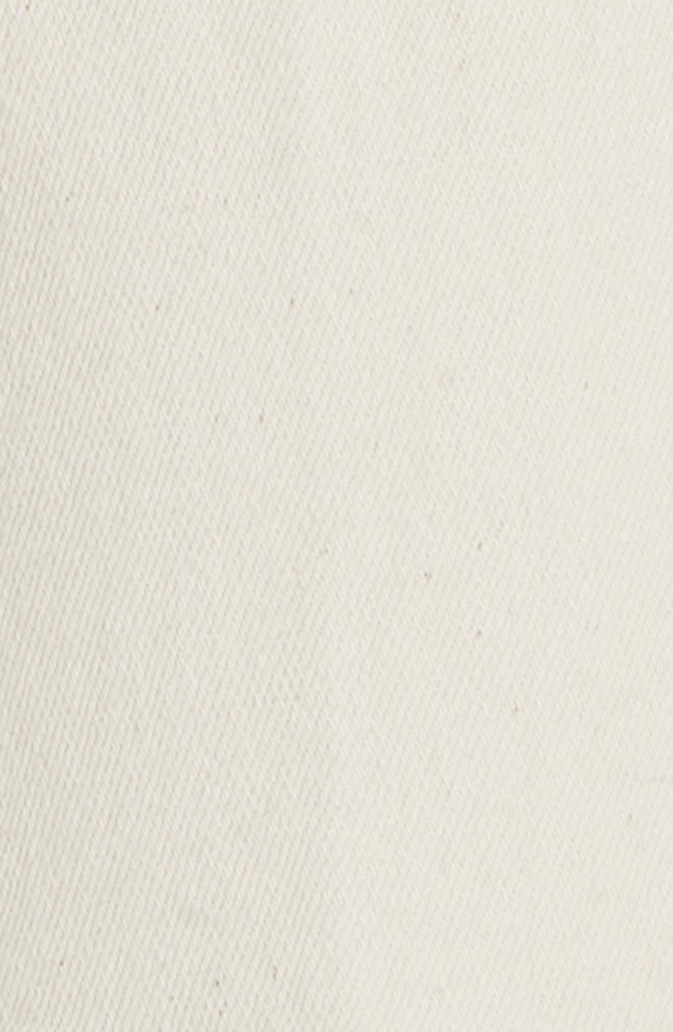 Lana Embellished Hem Jeans,                             Alternate thumbnail 5, color,                             104