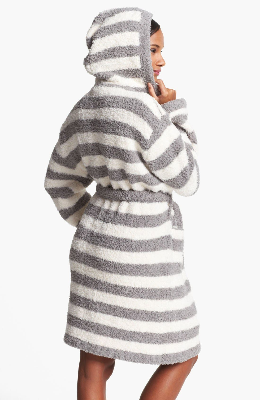 CozyChic<sup>®</sup> Stripe Hooded Robe,                             Alternate thumbnail 2, color,                             060