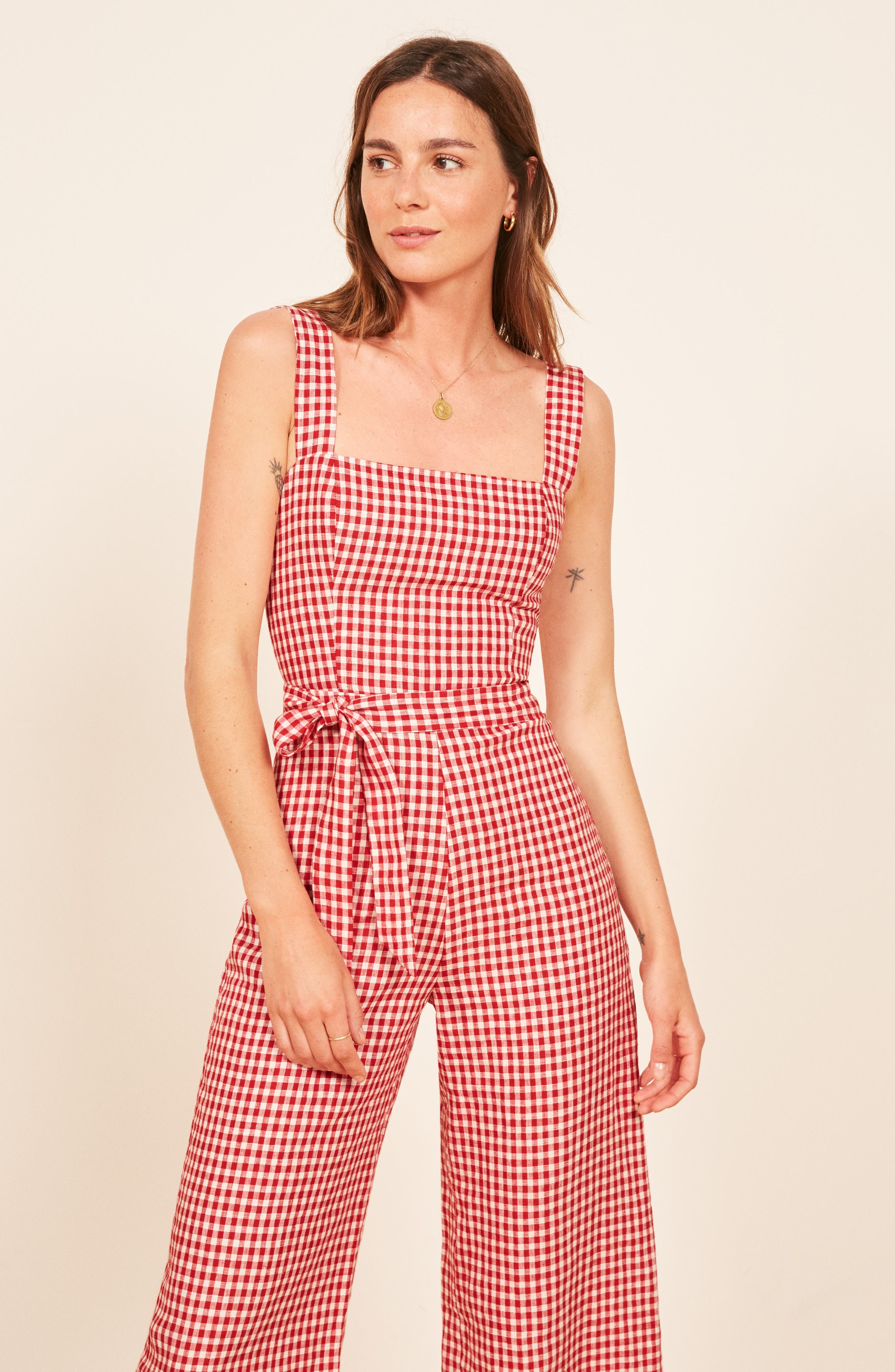Birch Jumpsuit,                             Alternate thumbnail 7, color,                             MAY CHECK