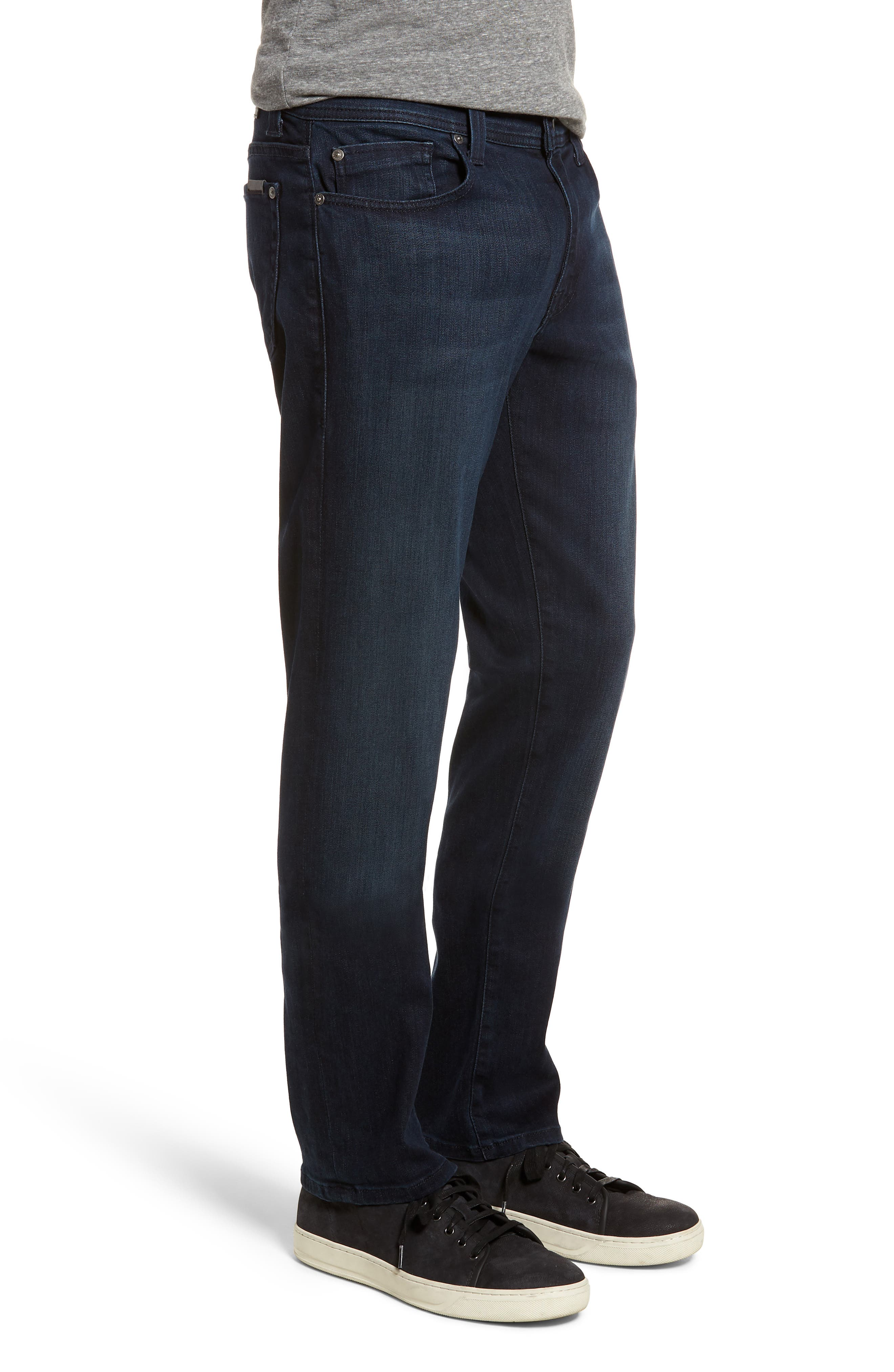 Jimmy Slim Straight Fit Jeans,                             Alternate thumbnail 3, color,                             400