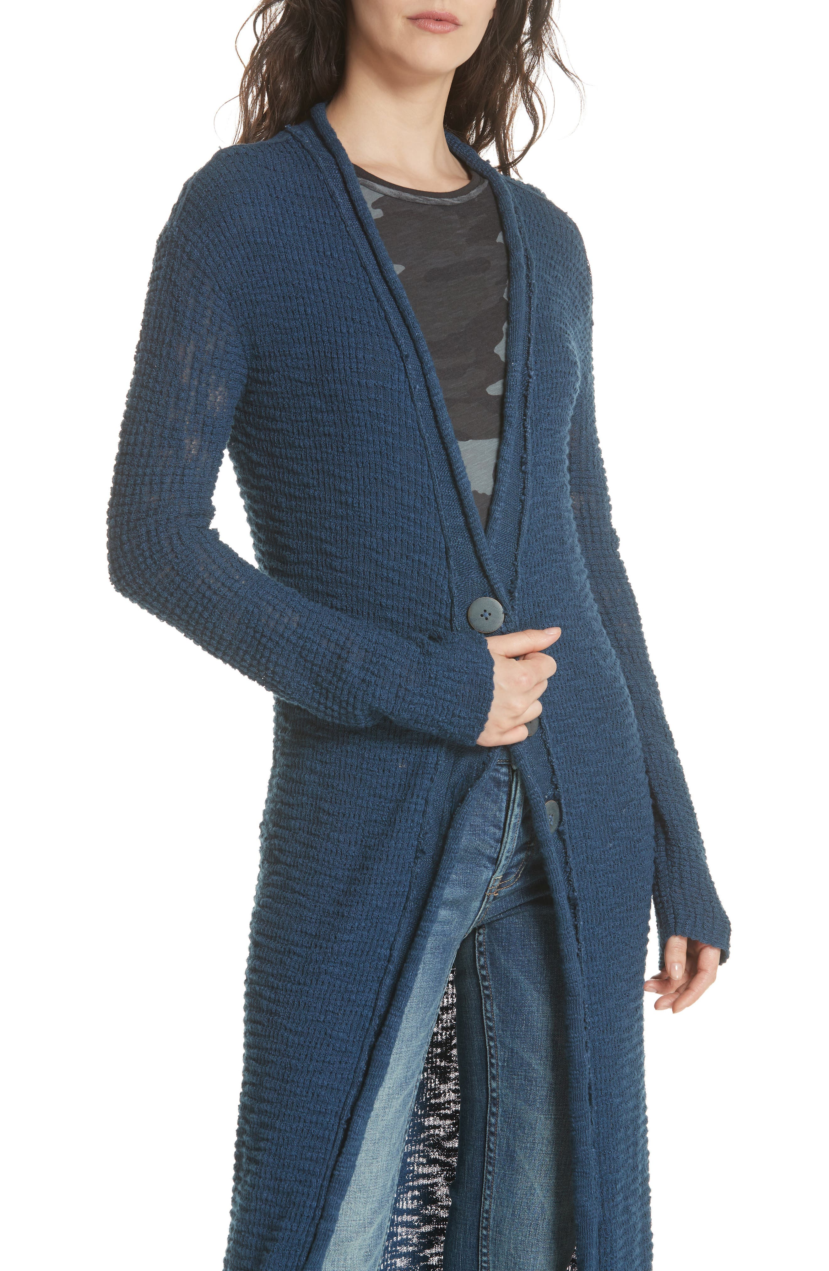 Clearwater Long Cardigan,                             Alternate thumbnail 4, color,                             410
