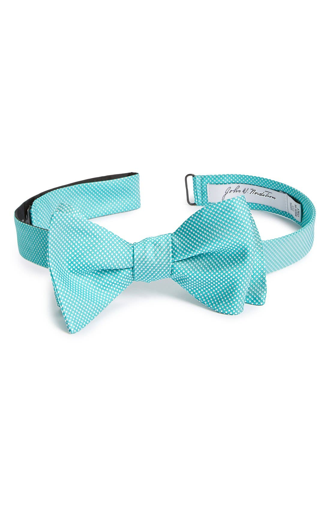 Dot Silk Bow Tie,                             Main thumbnail 5, color,