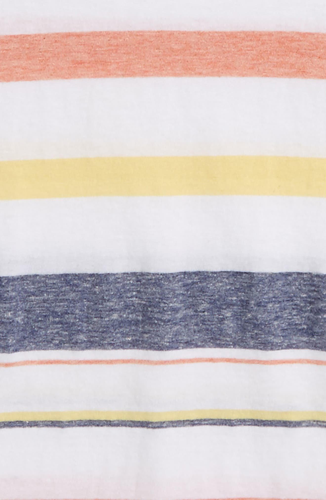 Washed Stripe T-Shirt,                             Alternate thumbnail 2, color,                             100