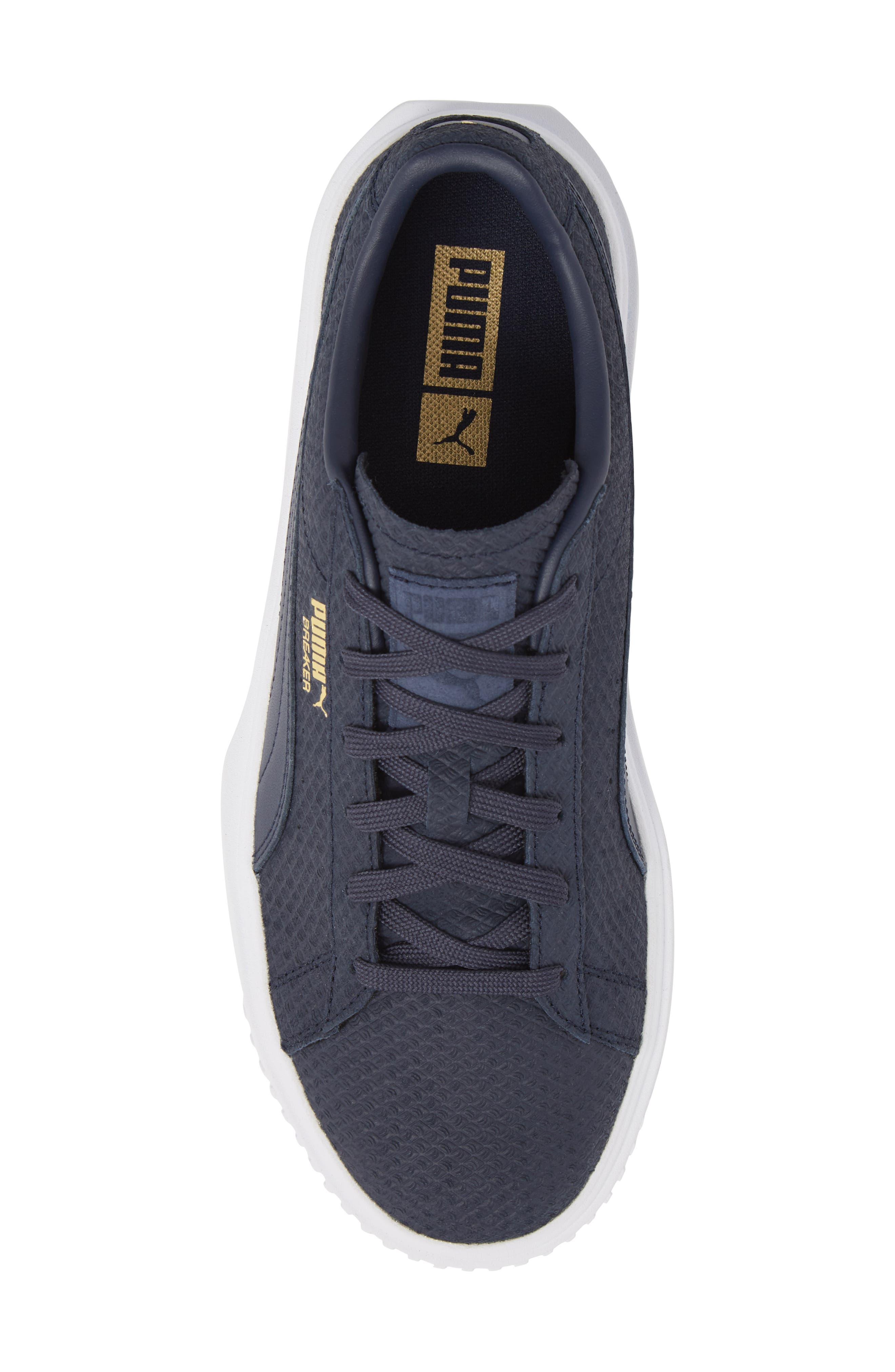 Breaker Suede Sneaker,                             Alternate thumbnail 5, color,                             400