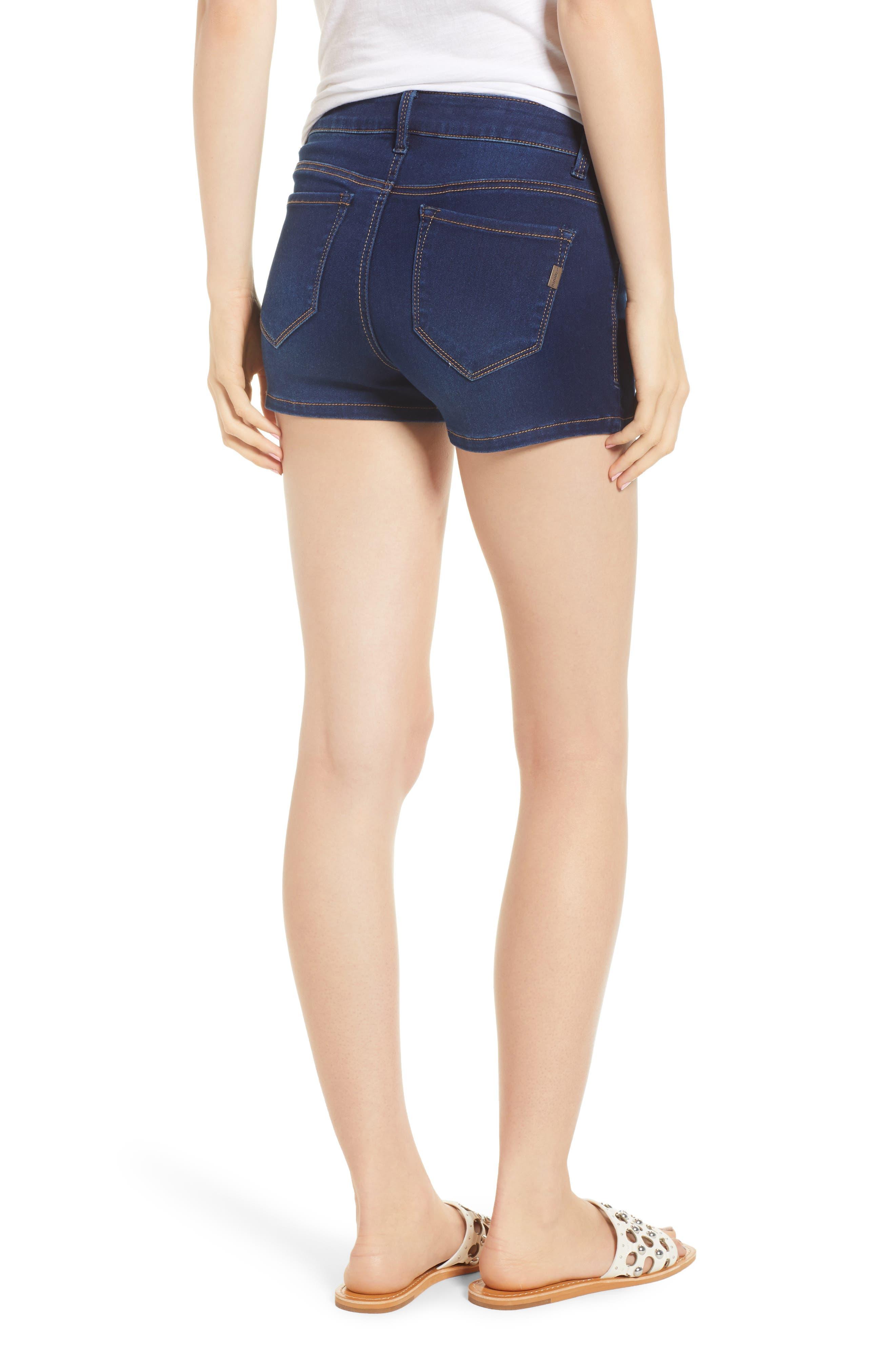 Butter Denim Shorts,                             Alternate thumbnail 2, color,                             LENNOX