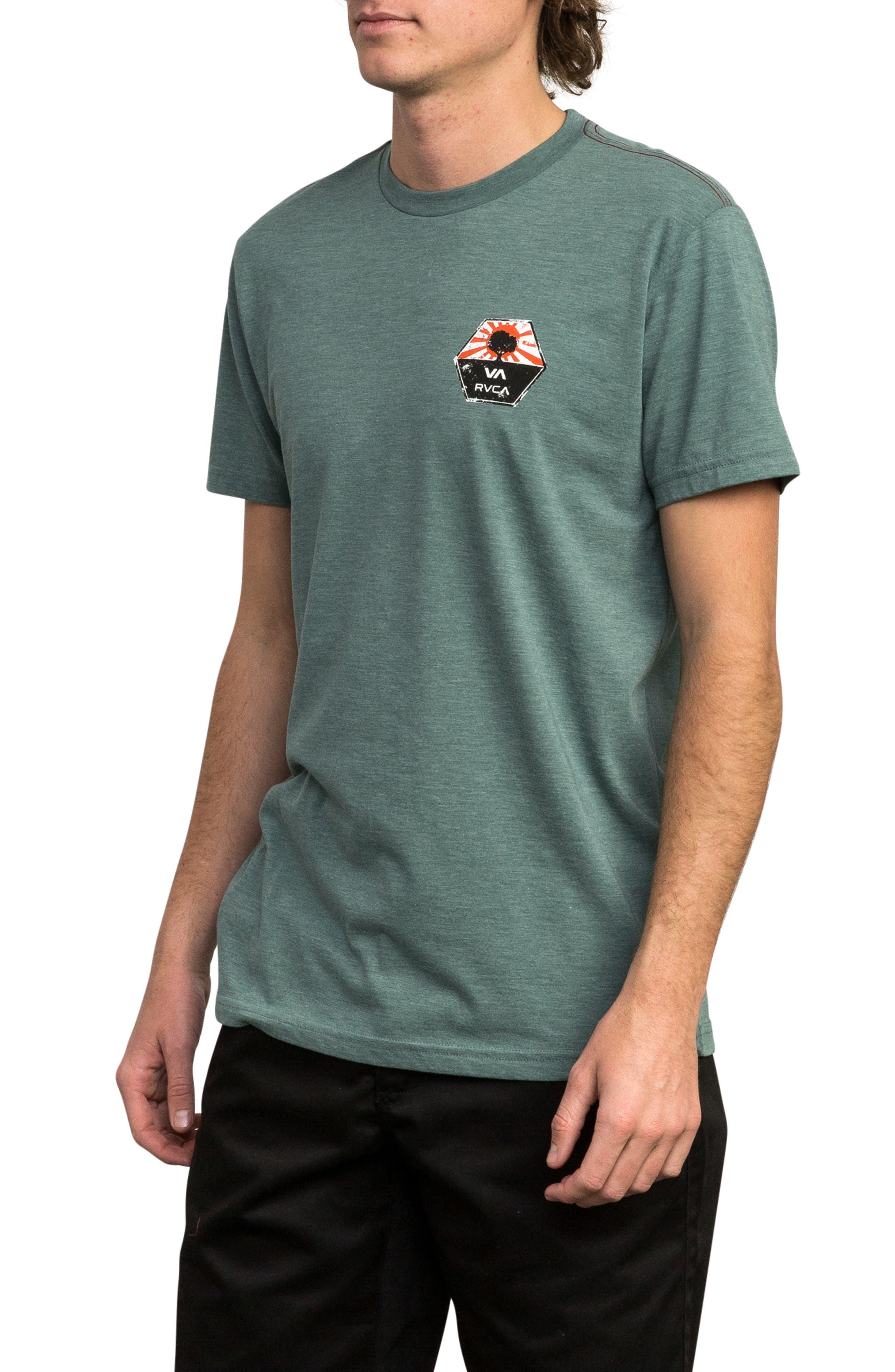 Bruce Irons Graphic T-Shirt,                             Alternate thumbnail 3, color,                             PINE TREE