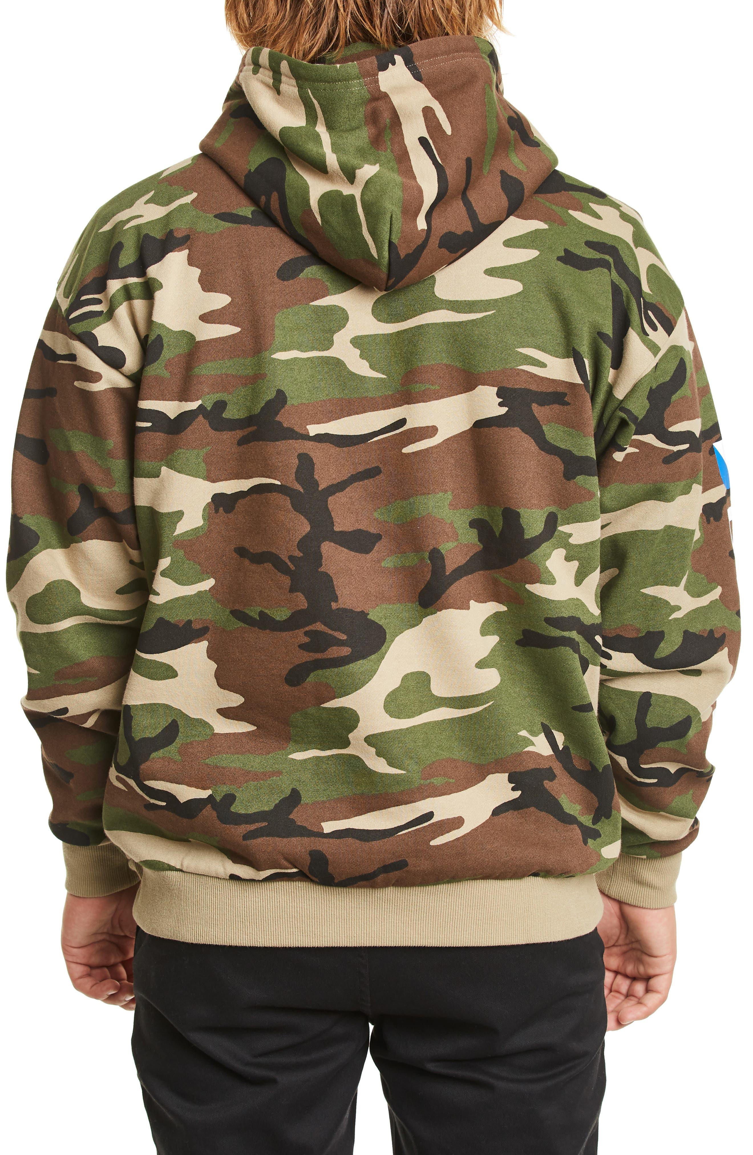 Stowell Hoodie Sweatshirt,                             Alternate thumbnail 2, color,                             CAMO