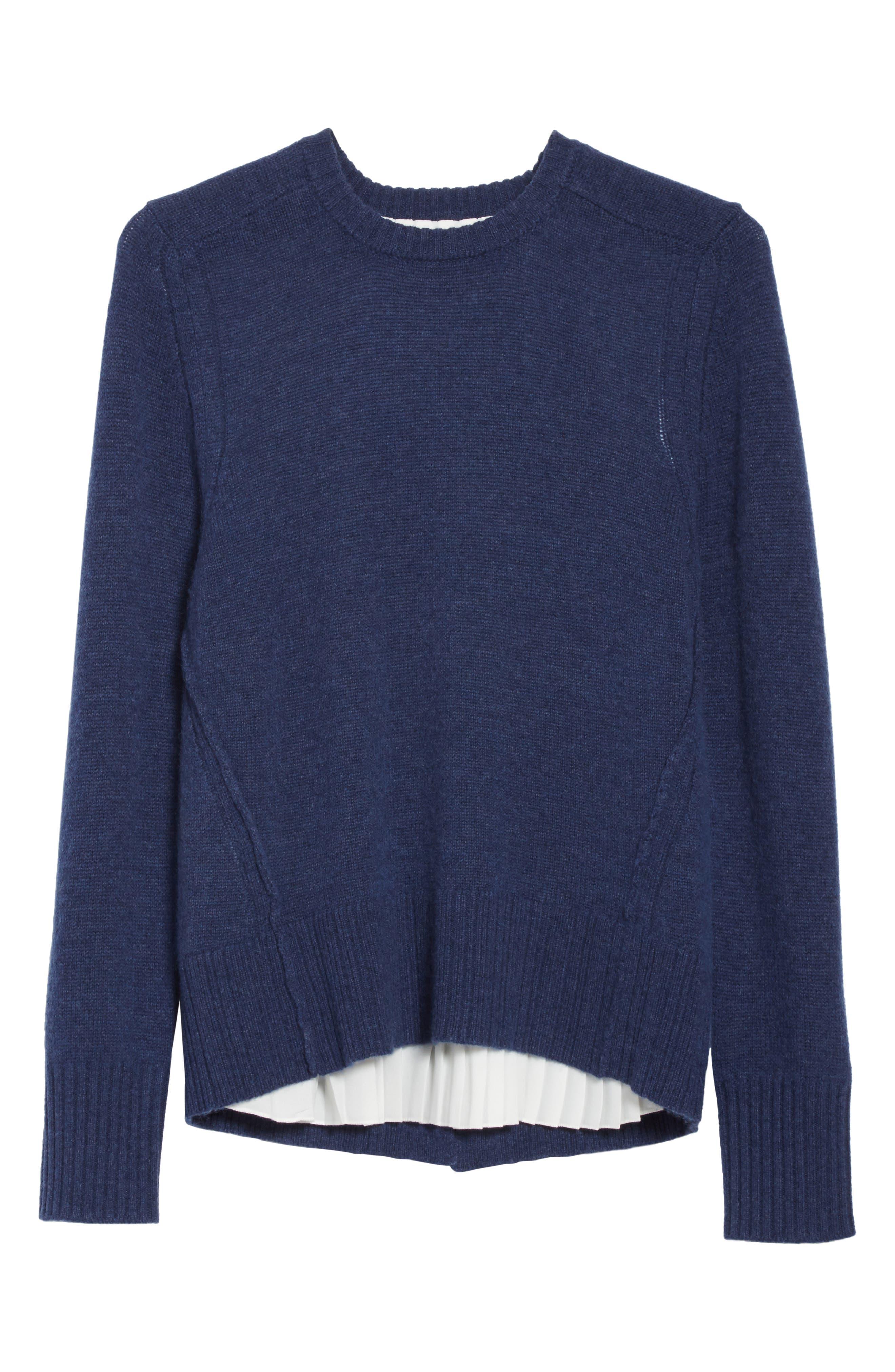 Keller Layered Sweater,                             Alternate thumbnail 12, color,