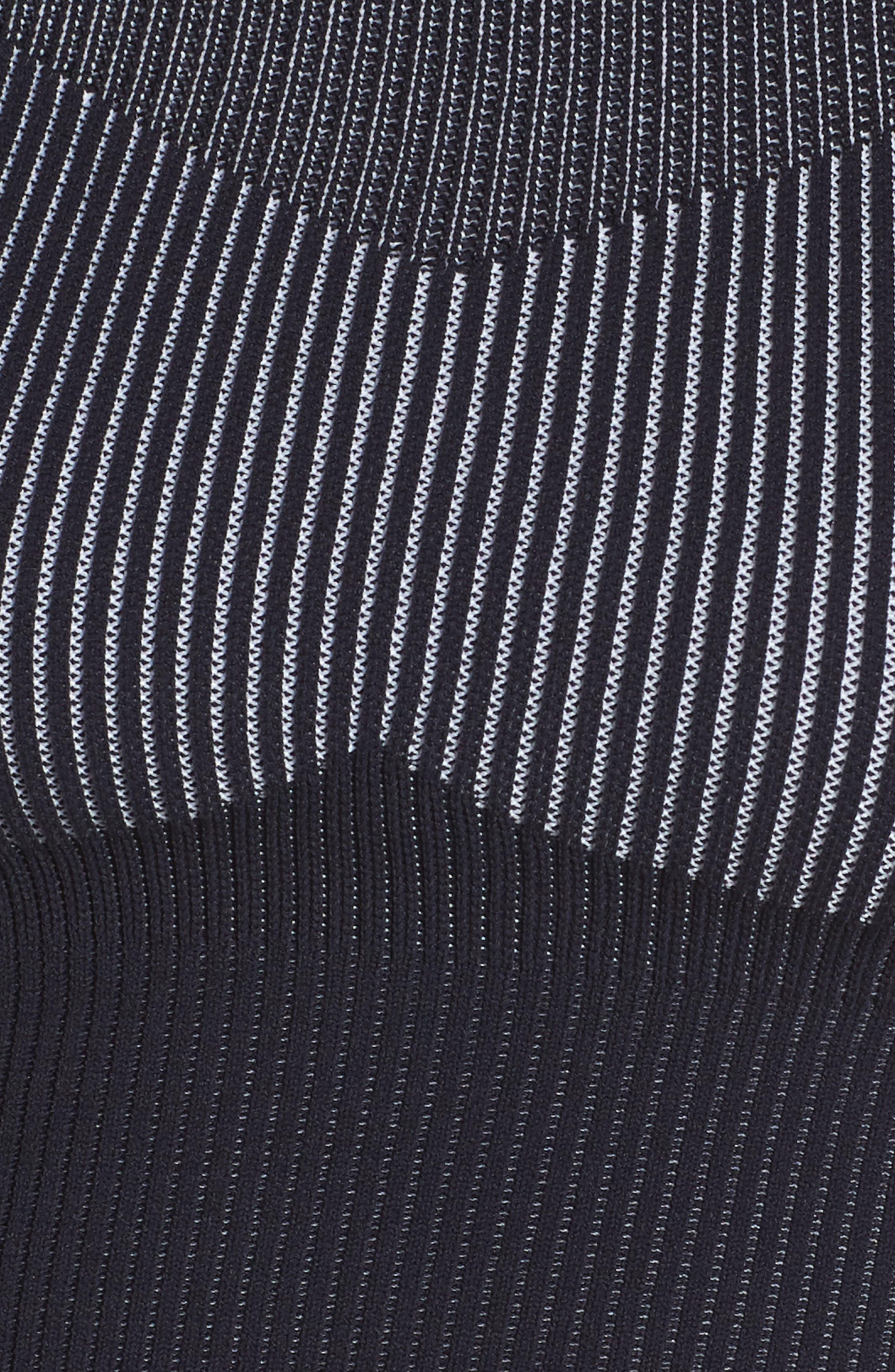 Sportswear Women's Tech Knit Crop Tank,                             Alternate thumbnail 8, color,                             DARK OBSIDIAN/ WHITE