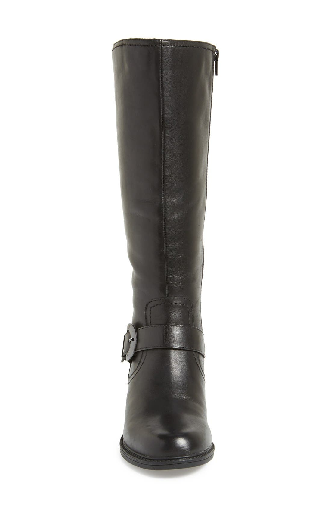 'Branson' Tall Riding Boot,                             Alternate thumbnail 2, color,                             001