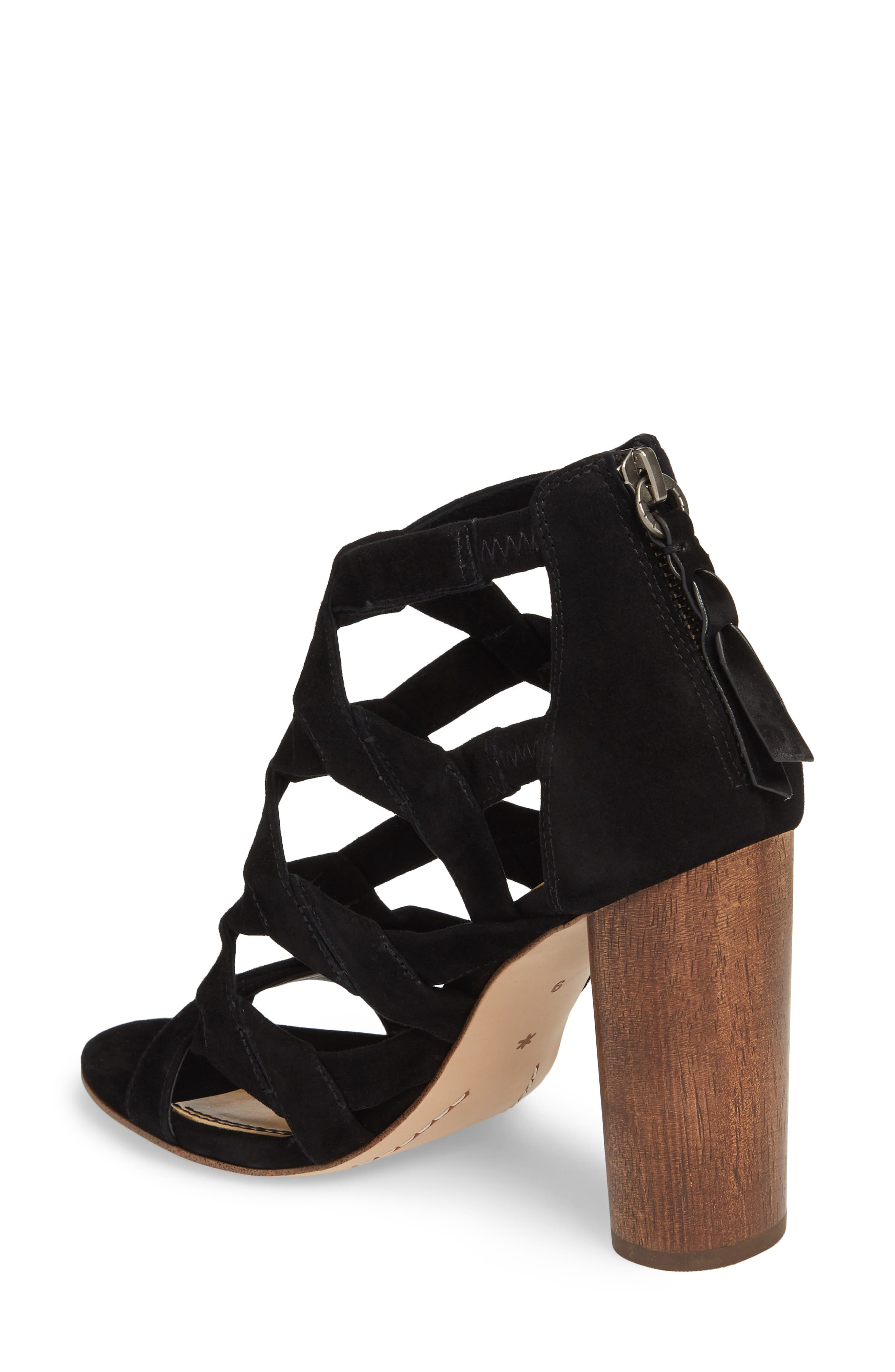 Bartlett Angled Cage Sandal,                             Alternate thumbnail 2, color,                             013