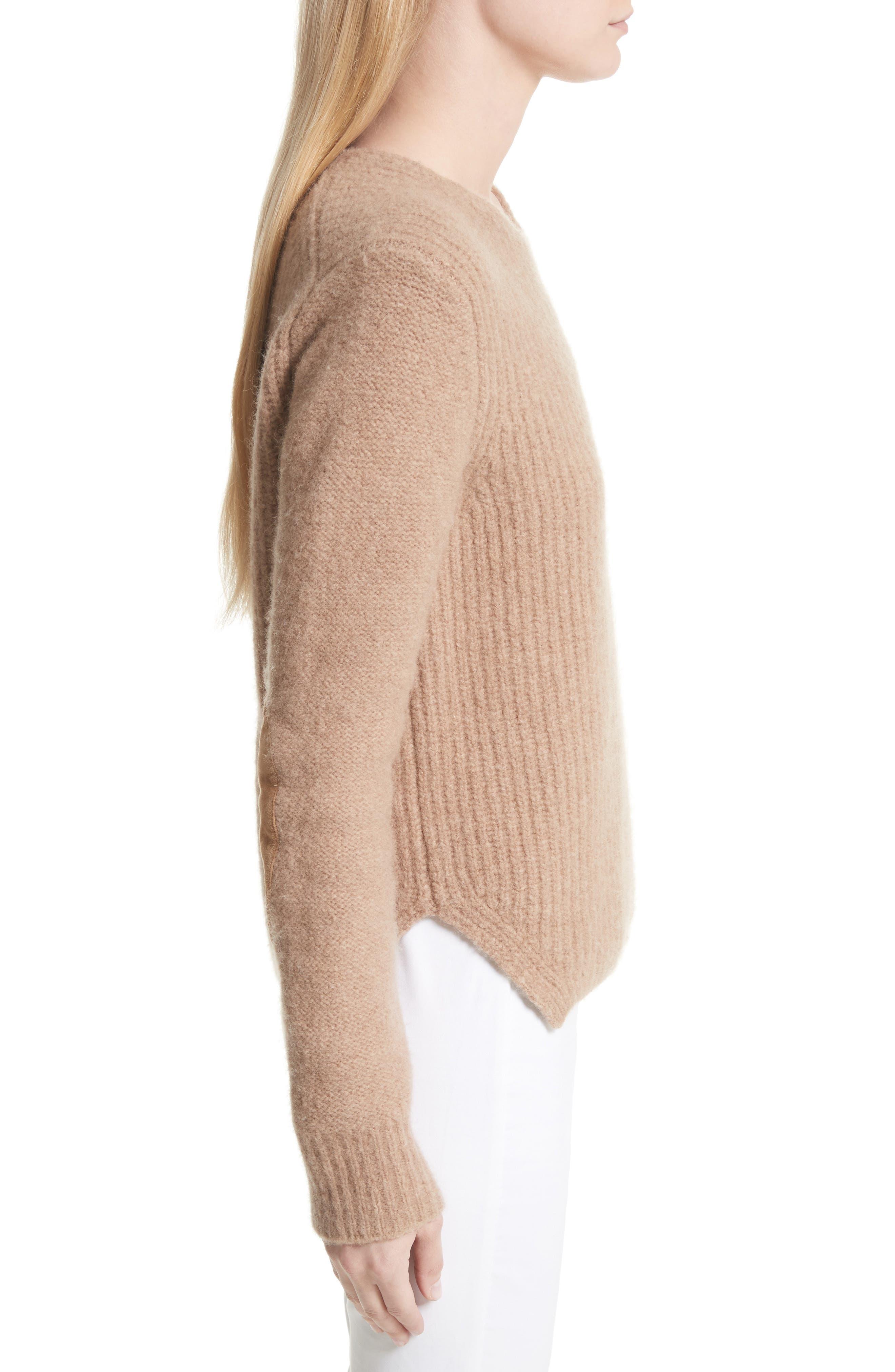 Francie Merino Wool Blend Sweater,                             Alternate thumbnail 3, color,                             230