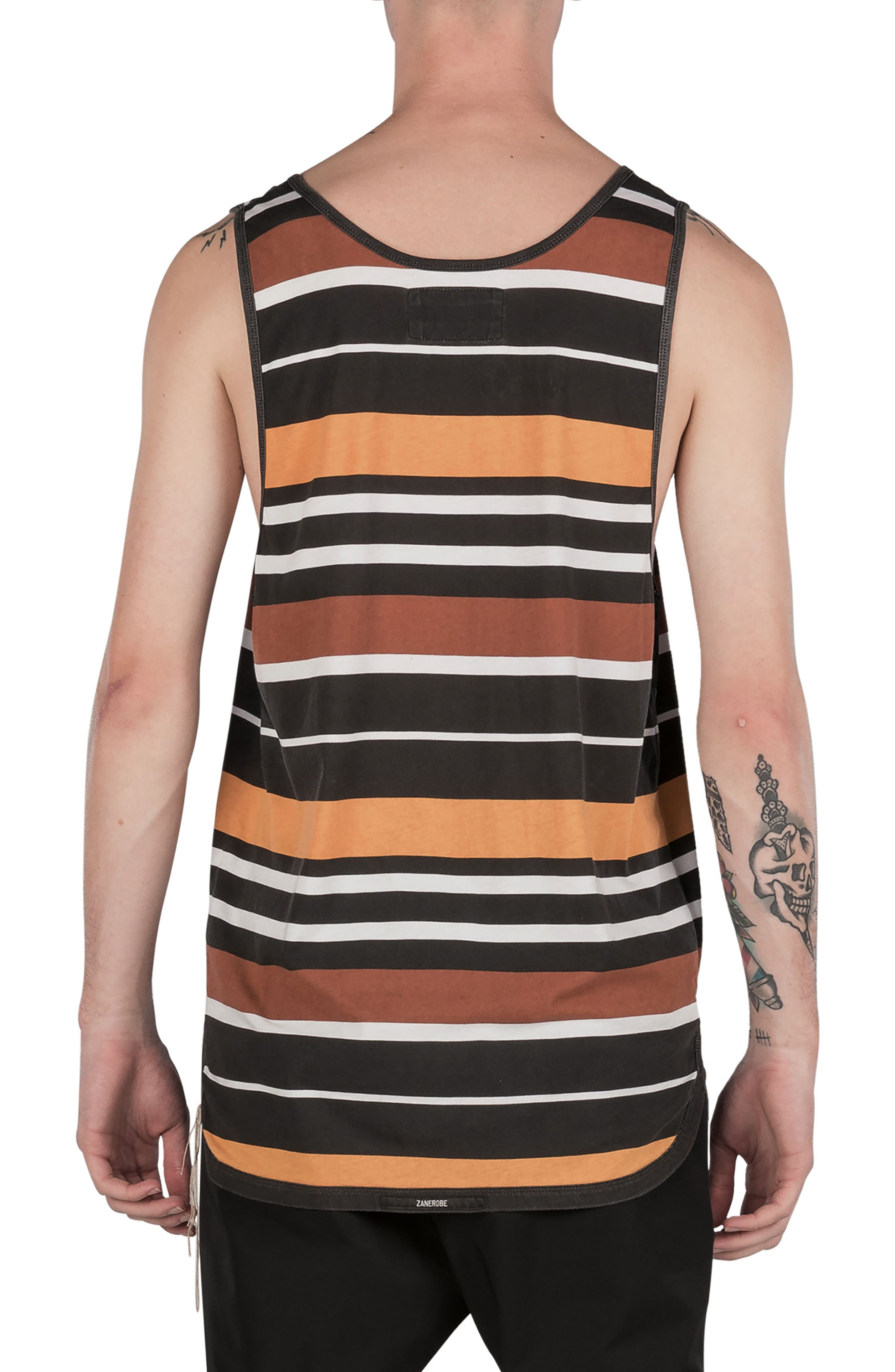 Rugby Stripe Rugger Tank,                             Alternate thumbnail 2, color,