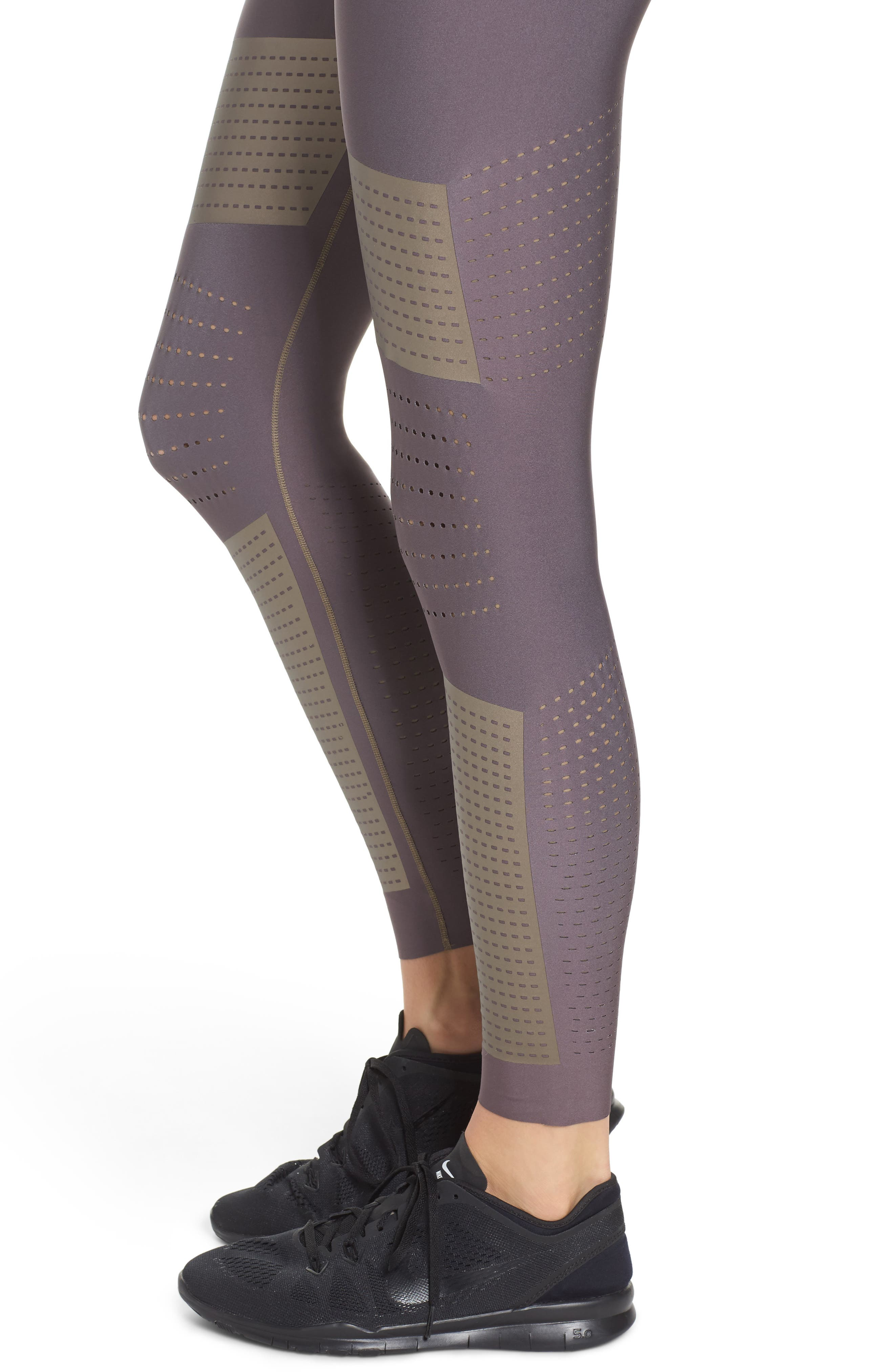 Ultra Silk AK17 High Waist Leggings,                             Alternate thumbnail 8, color,