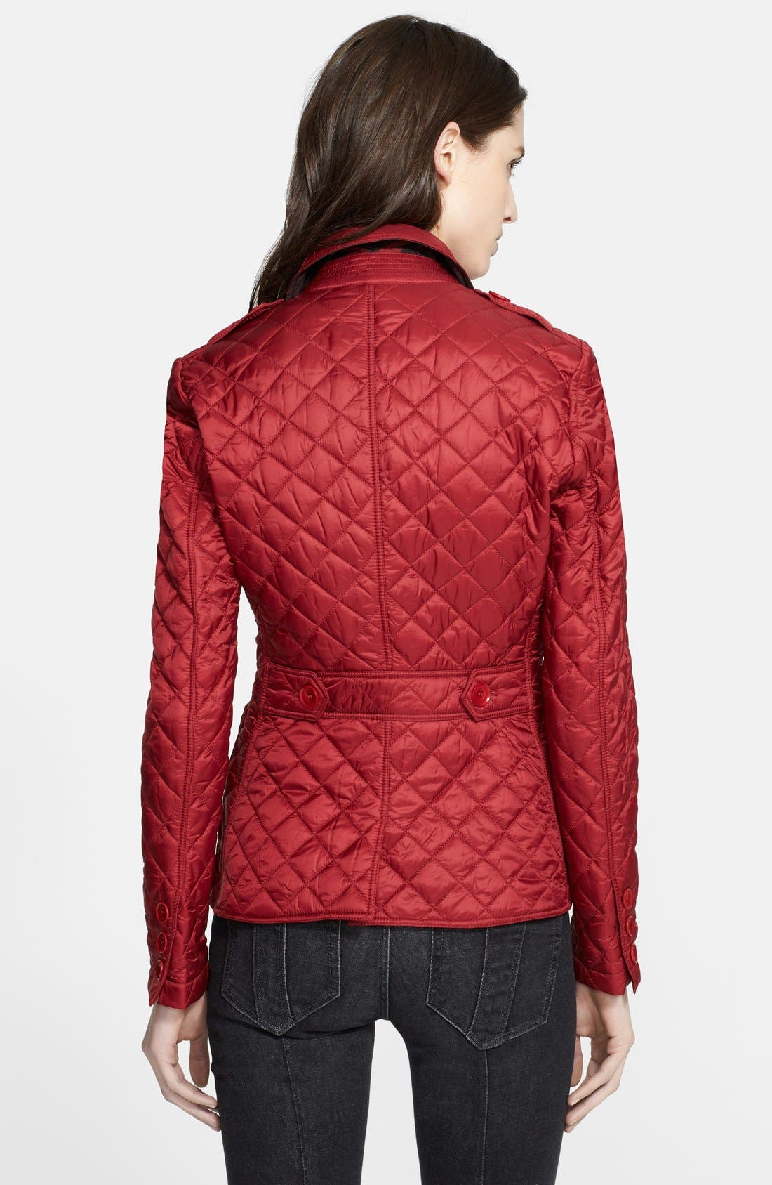 'Caulfield' Diamond Quilted Jacket,                             Alternate thumbnail 2, color,                             601