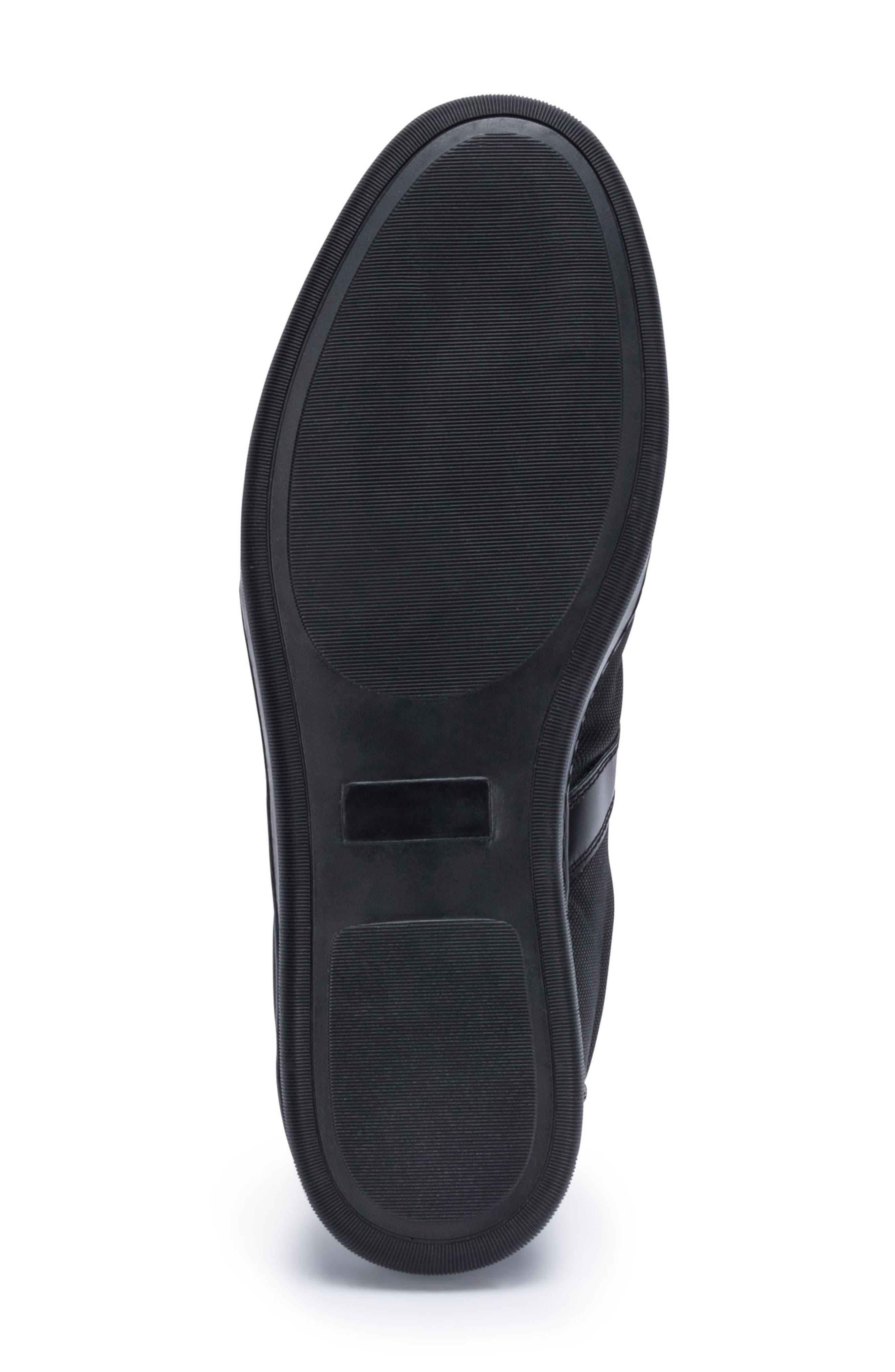 Paris Sneaker,                             Alternate thumbnail 6, color,                             BLACK