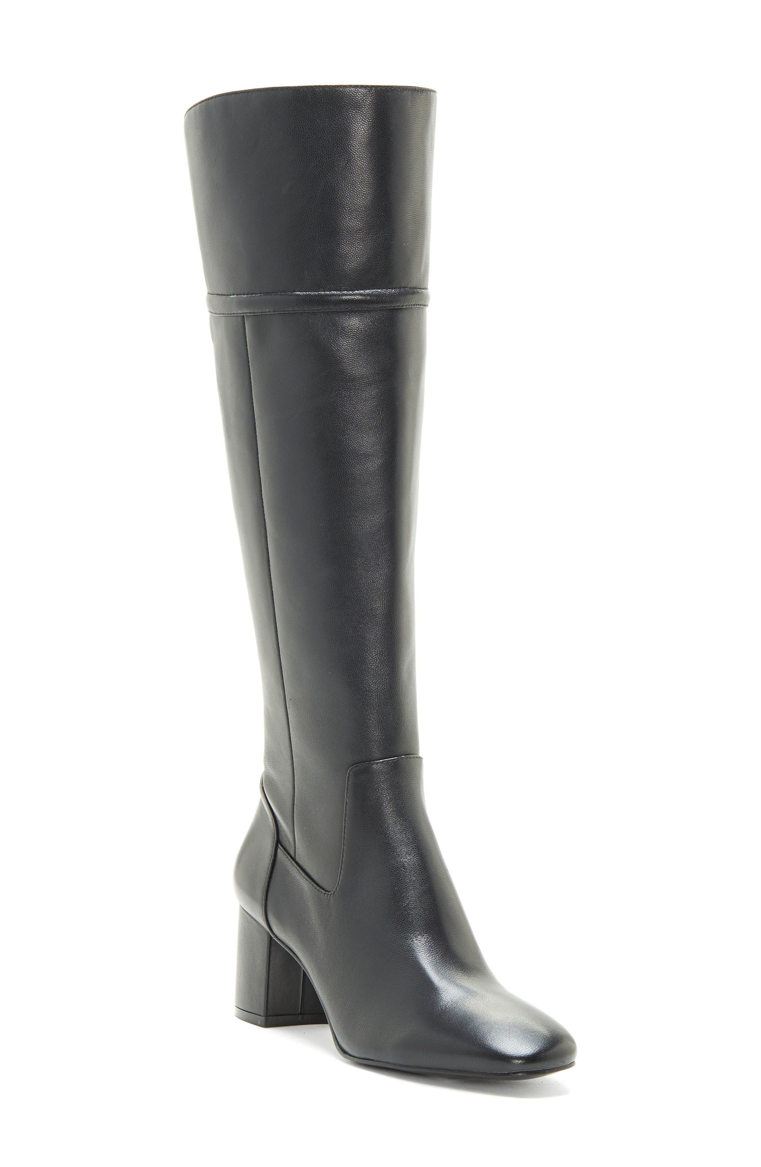 Enzo Angiolini Paceton Over The Knee Boot, Black