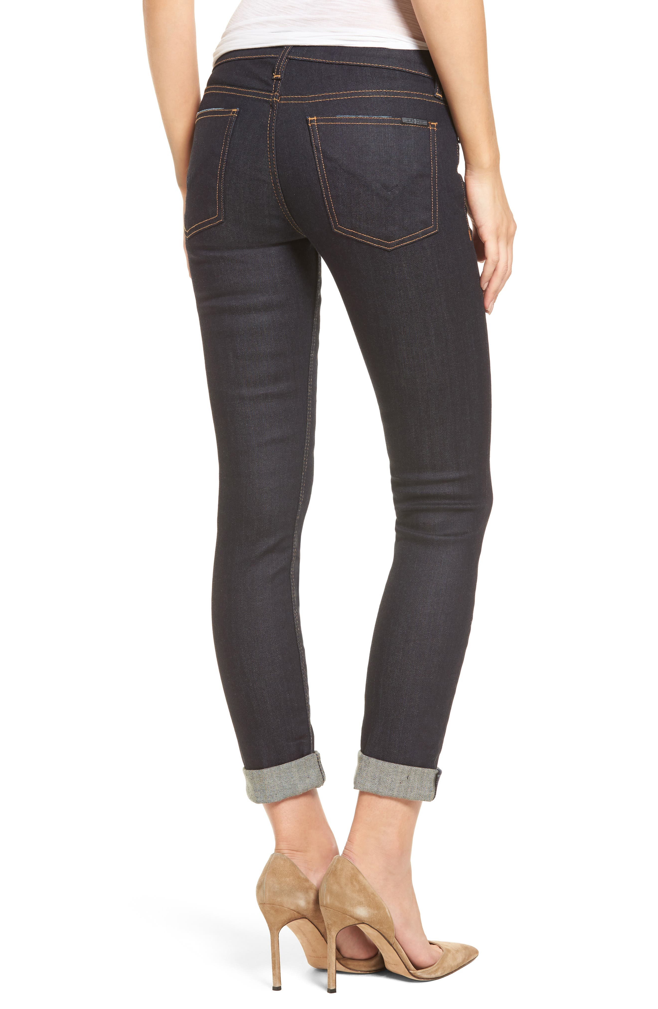Tally Crop Skinny Jeans,                             Alternate thumbnail 2, color,                             402