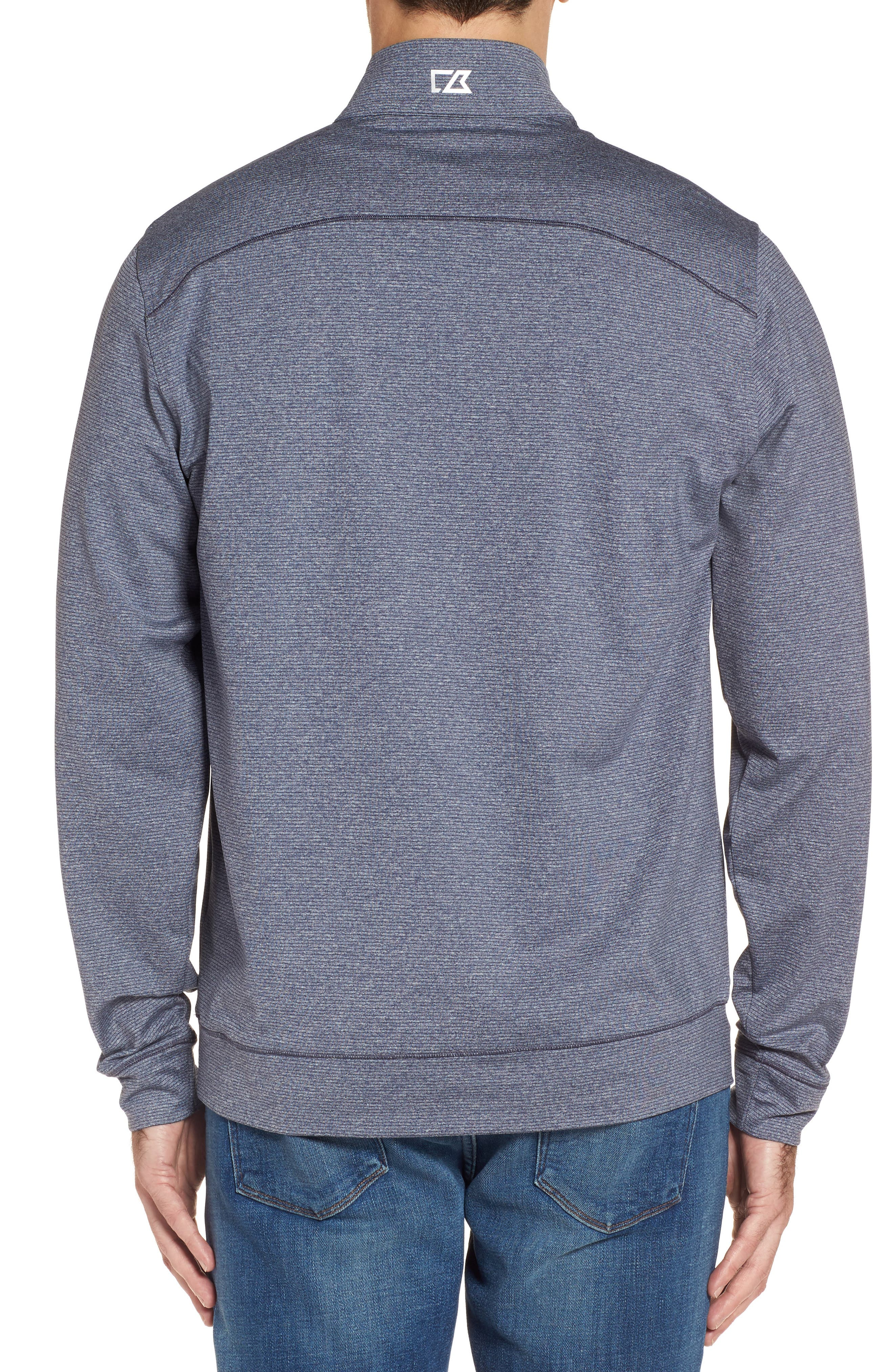 Shoreline - New England Patriots Half Zip Pullover,                             Alternate thumbnail 2, color,                             976