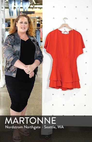 Palmira Tiered Fit & Flare Minidress, sales video thumbnail
