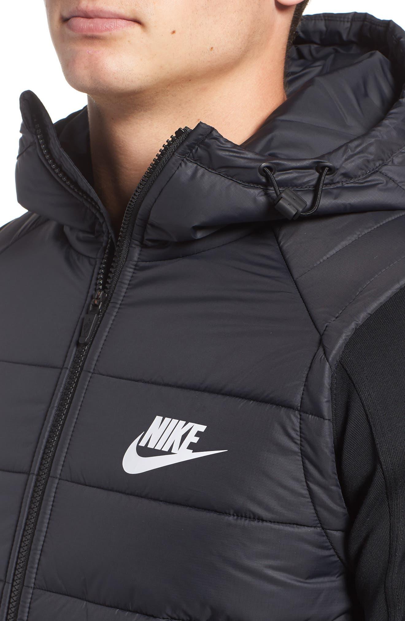 NIKE,                             Sportswear Advance 15 Jacket,                             Alternate thumbnail 4, color,                             010