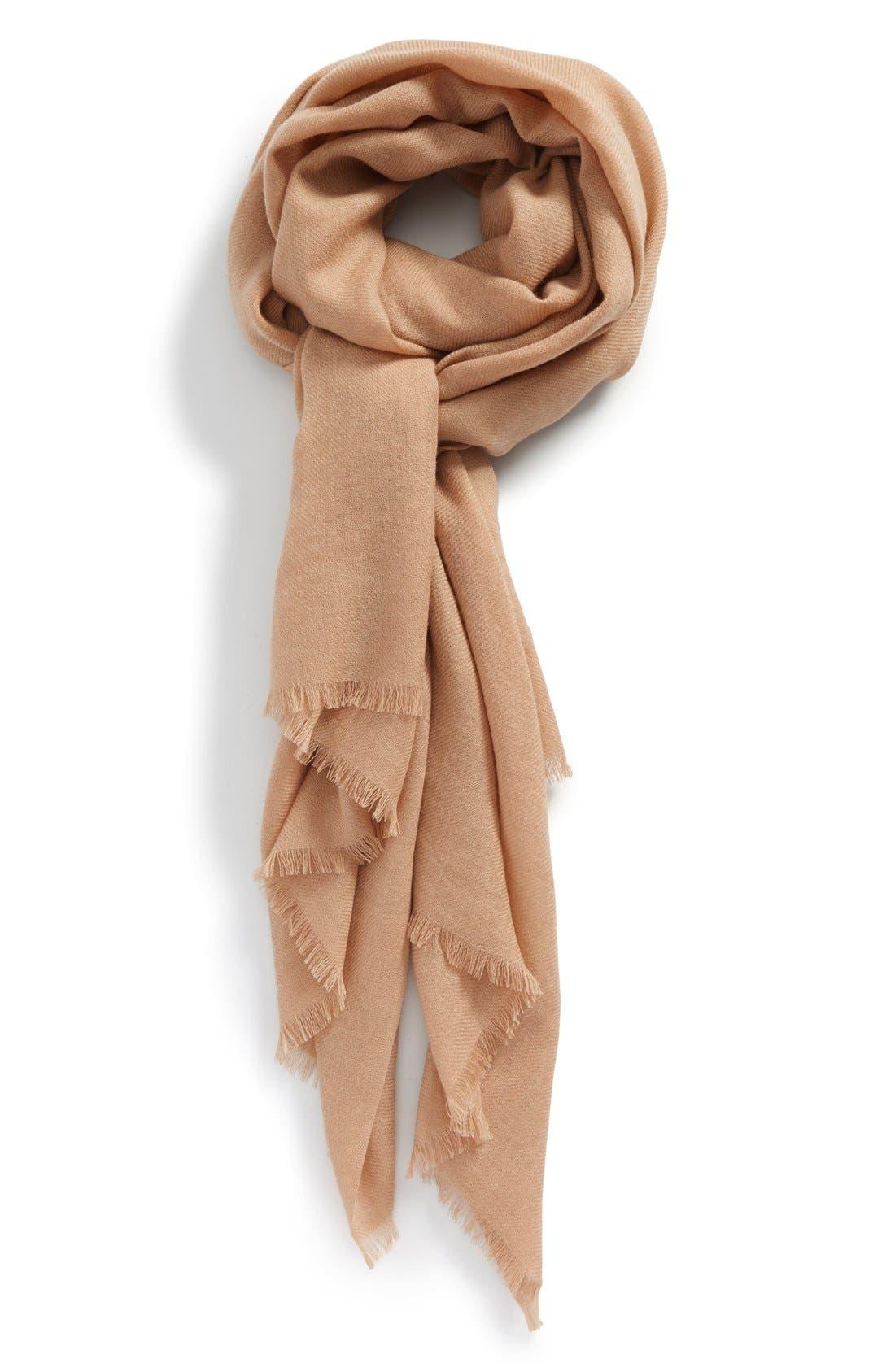 Wool & Cashmere Wrap,                             Main thumbnail 6, color,