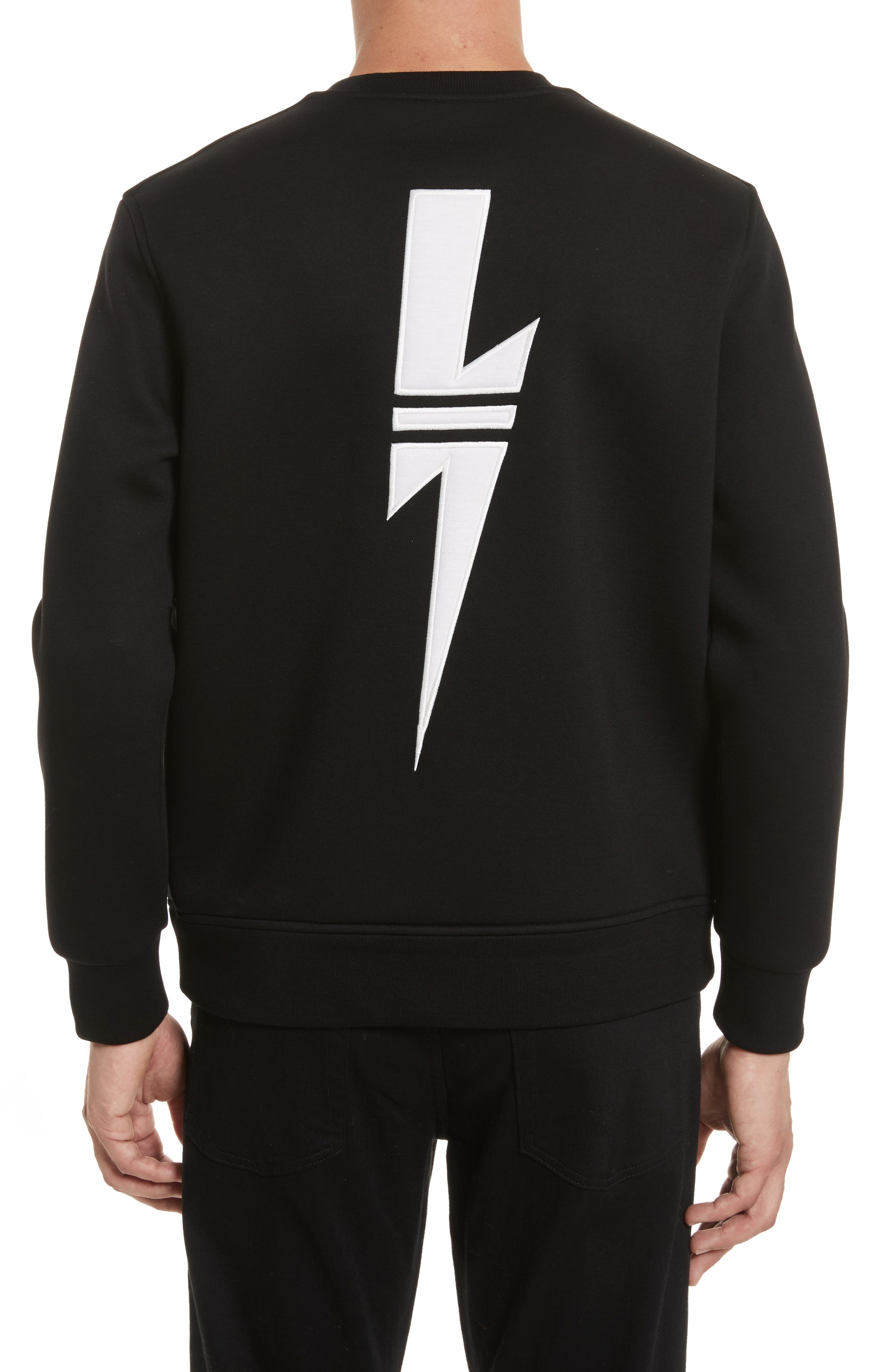New Thunderbolt Sweatshirt,                             Alternate thumbnail 2, color,                             001