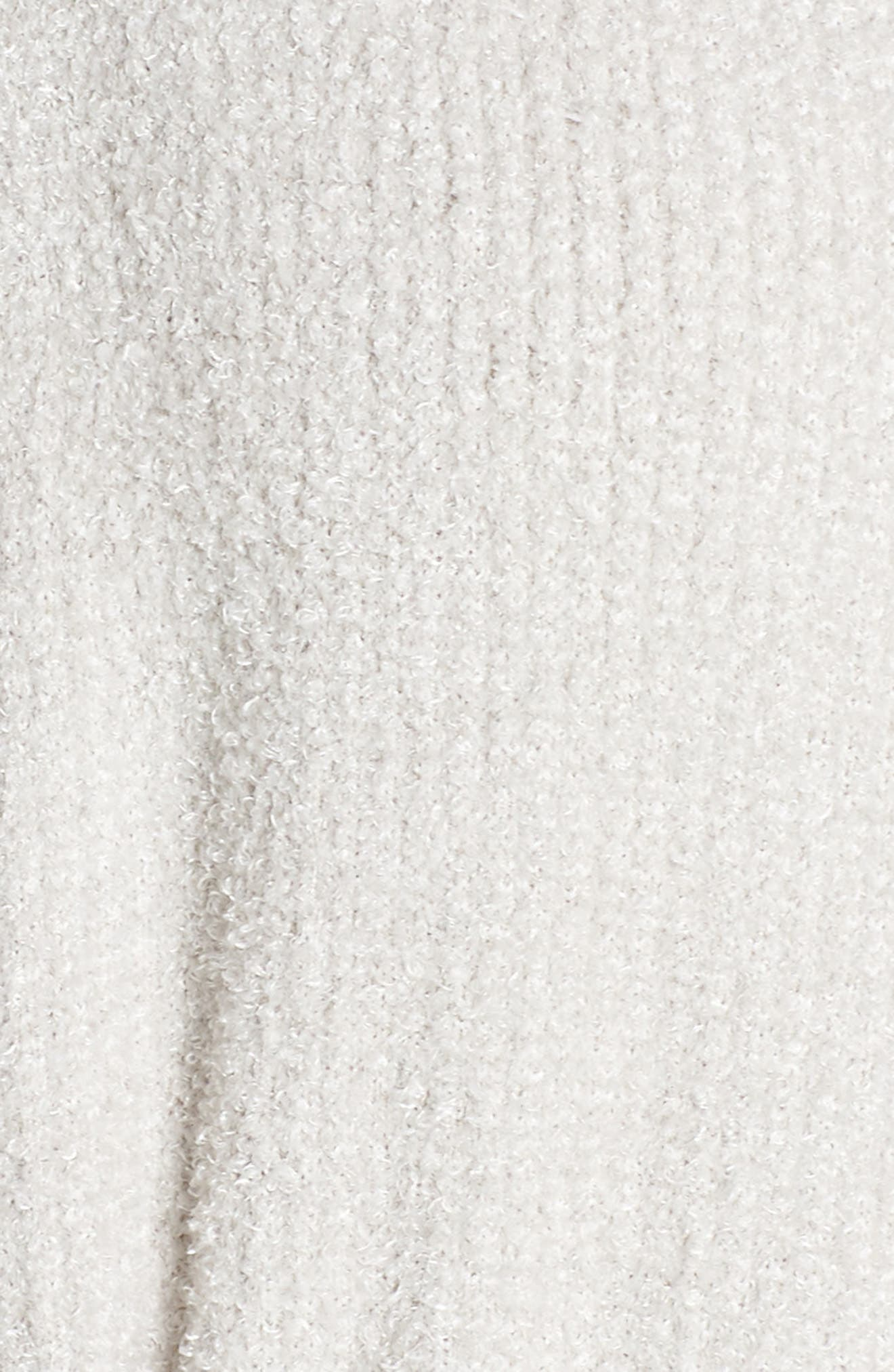 CozyChic<sup>™</sup> Ribbed Robe,                             Alternate thumbnail 5, color,                             SILVER/ PEARL- HE