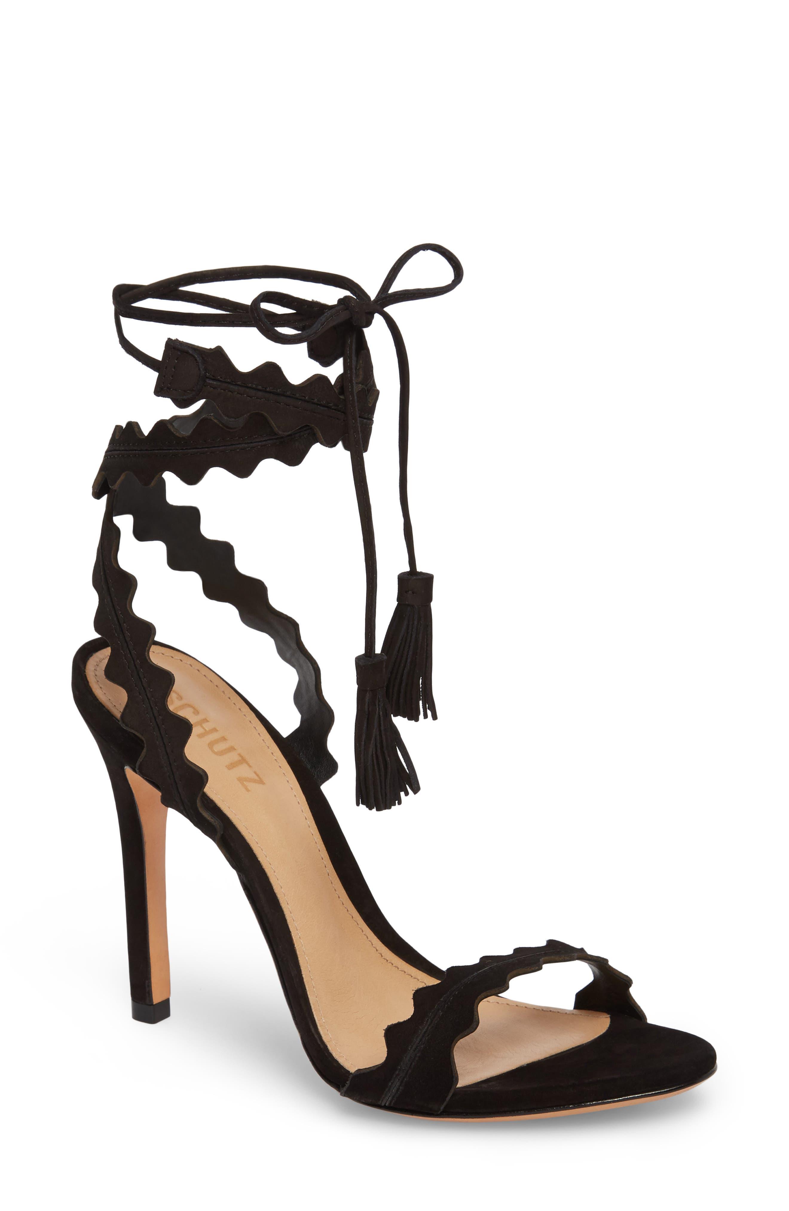 Lisana Wraparound Sandal,                             Main thumbnail 1, color,                             014