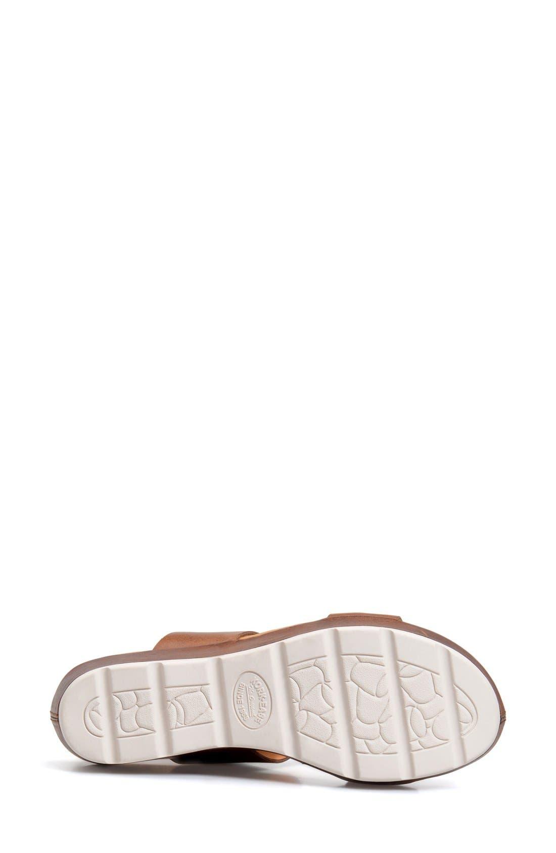 'Khloe' Platform Wedge Sandal,                             Alternate thumbnail 17, color,