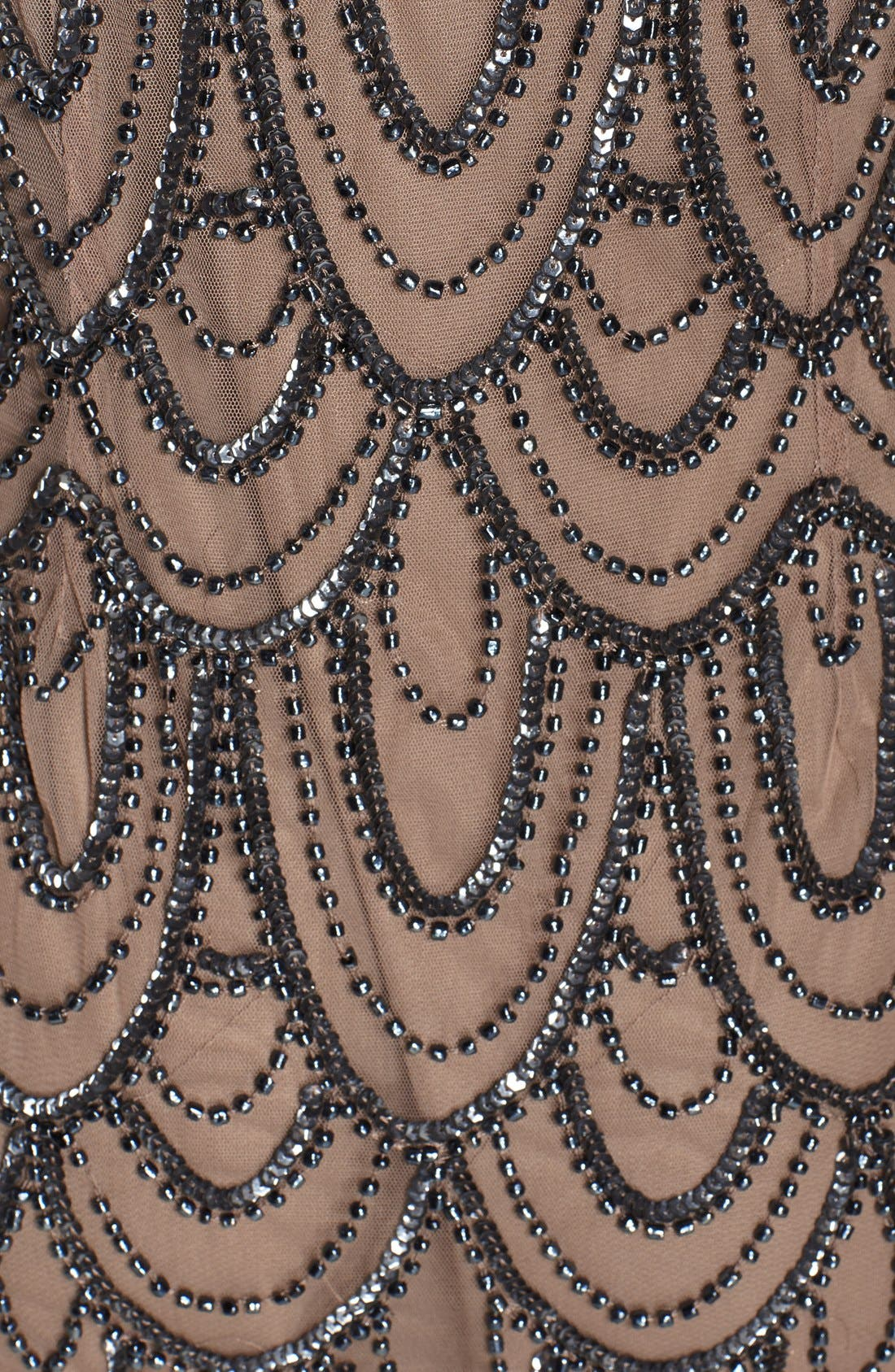 Embellished Mesh Sheath Dress,                             Alternate thumbnail 37, color,