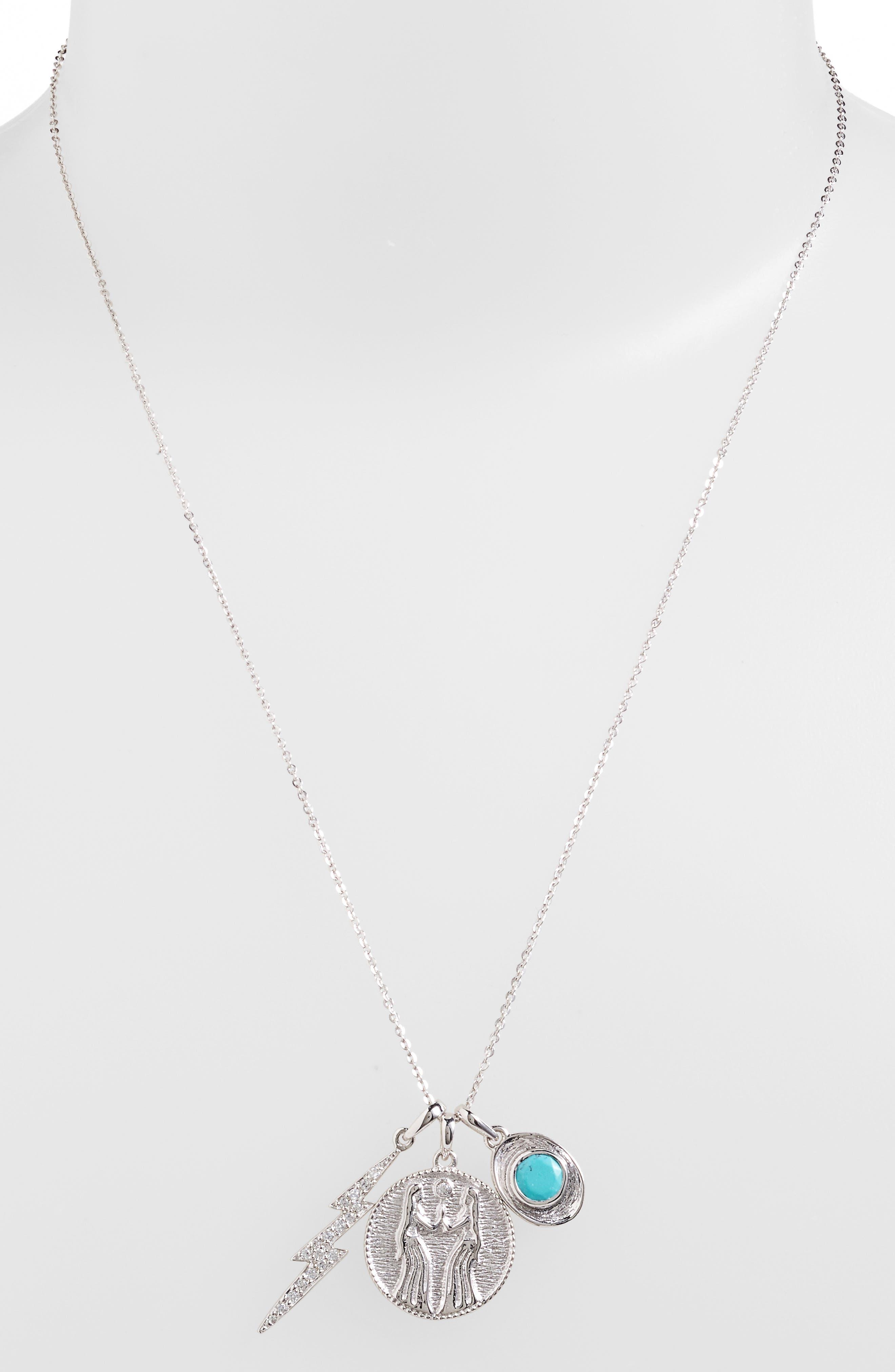 Goddess of Sisterhood Pendant Necklace,                         Main,                         color,