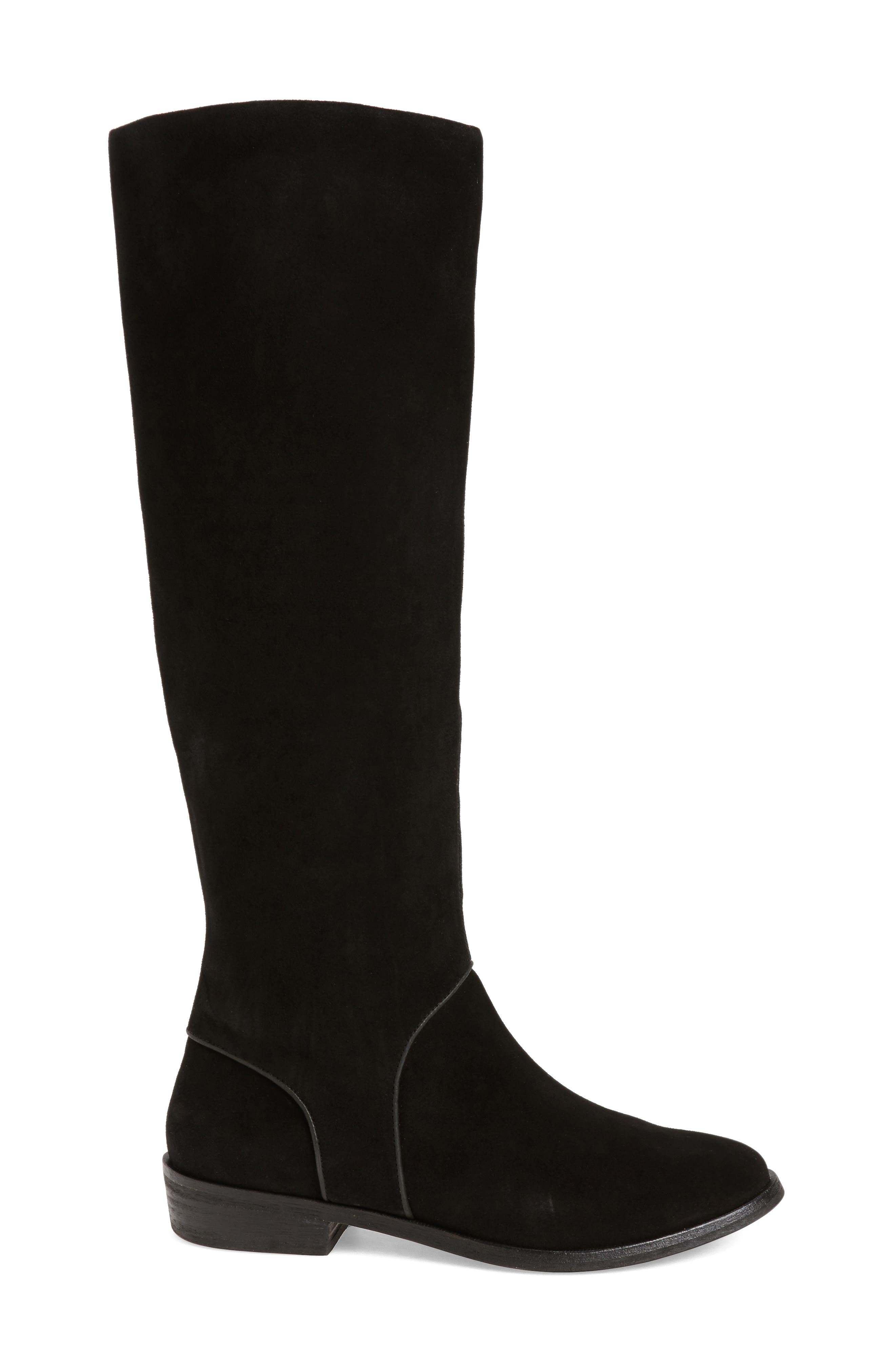 Daley Tall Boot,                             Alternate thumbnail 3, color,                             001