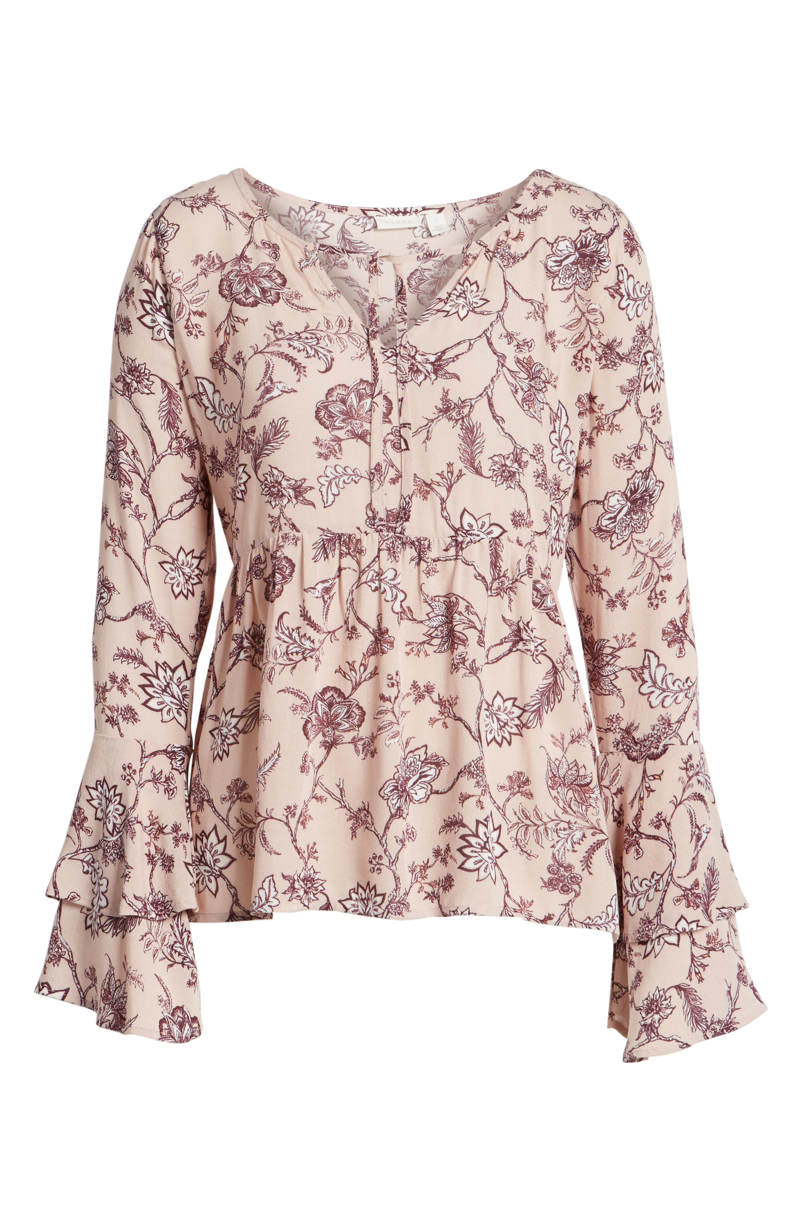 Bell Sleeve Top,                             Alternate thumbnail 17, color,