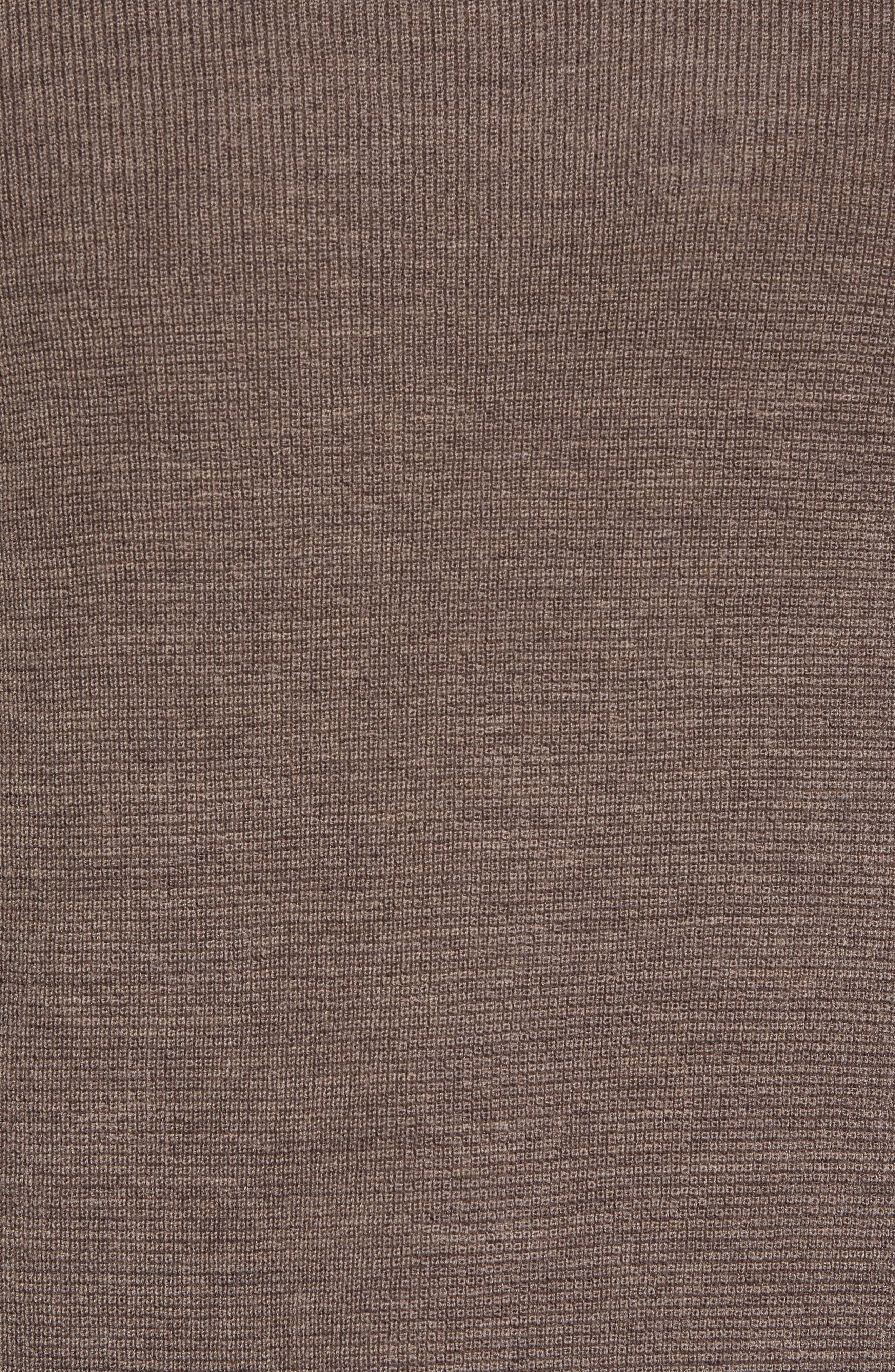 Huxley Merino Sweater,                             Alternate thumbnail 5, color,                             LIGHT COFFEE
