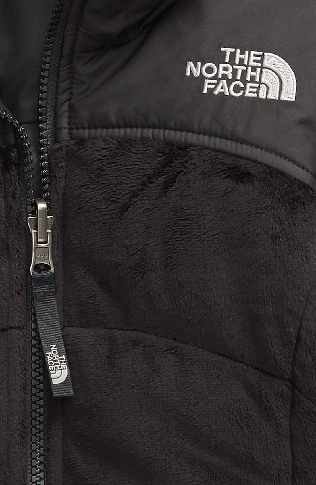 THE NORTH FACE,                             'Perseus' Water Repellent Heatseeker<sup>™</sup> Insulated Hooded Reversible Jacket,                             Alternate thumbnail 3, color,                             001