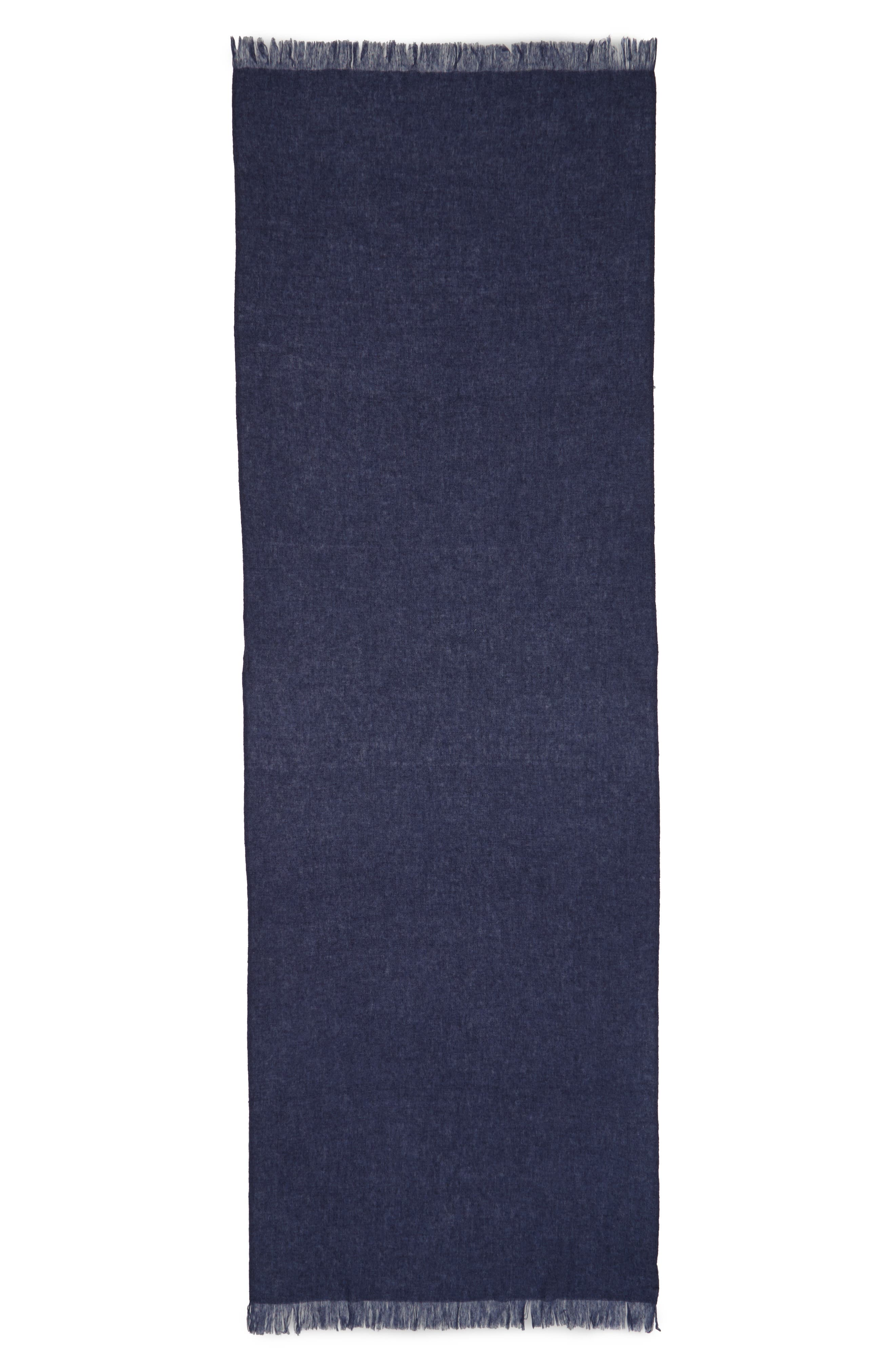Caslon<sup>®</sup> Heathered Cashmere Gauze Scarf,                             Alternate thumbnail 20, color,