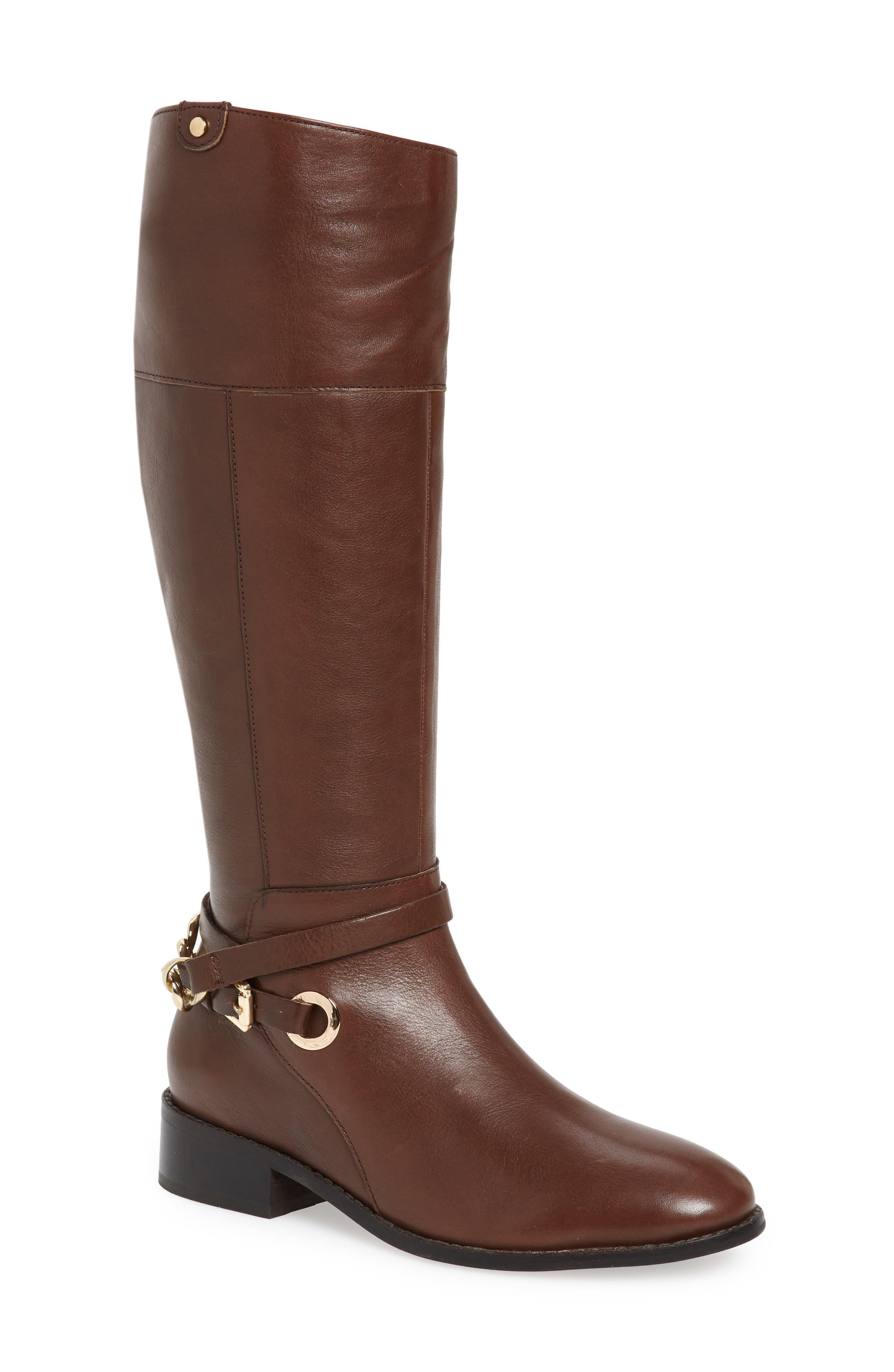 Seychelles Resin Knee High Riding Boot, Brown