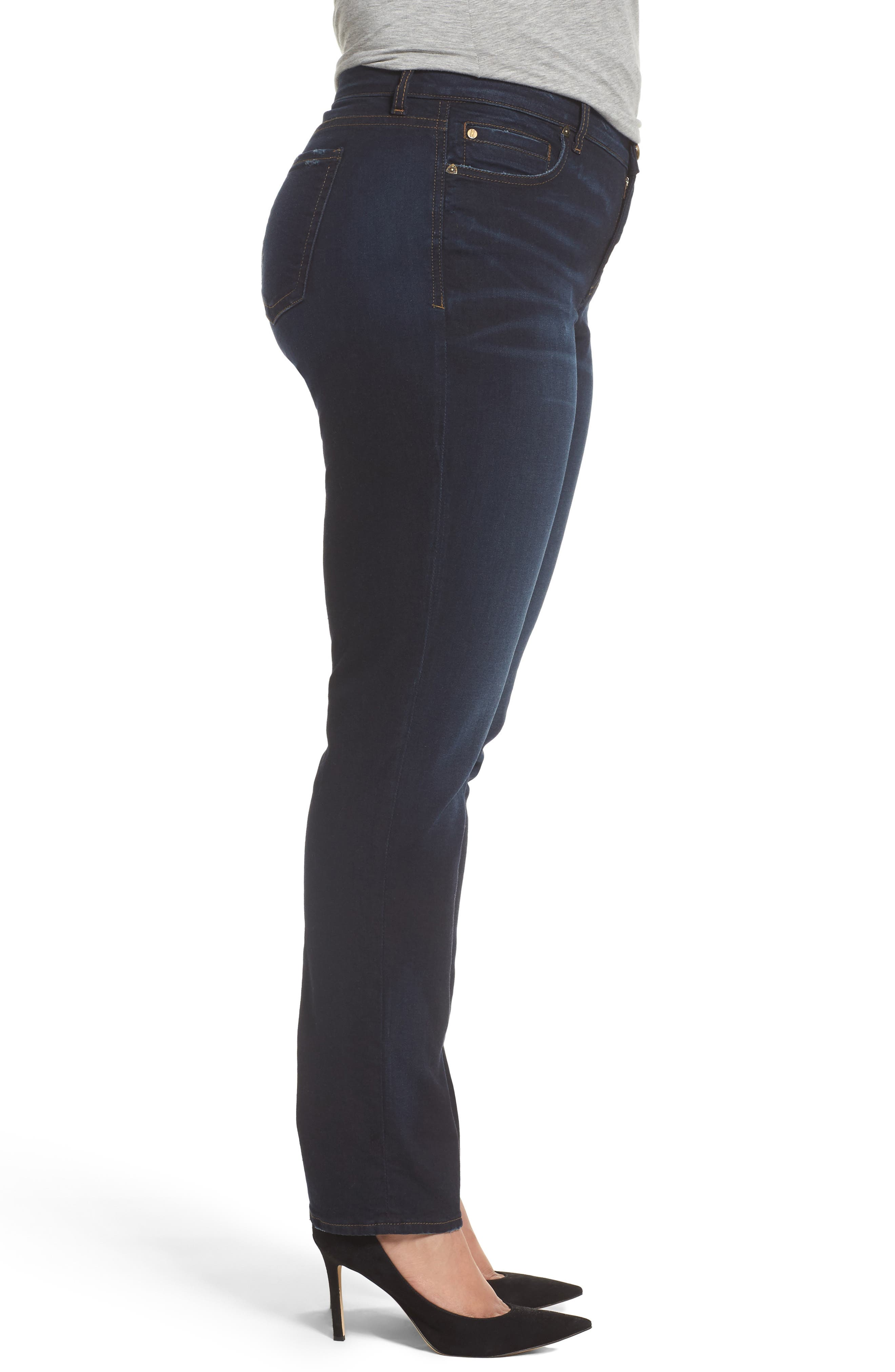 Diana Stretch Skinny Jeans,                             Alternate thumbnail 3, color,                             400
