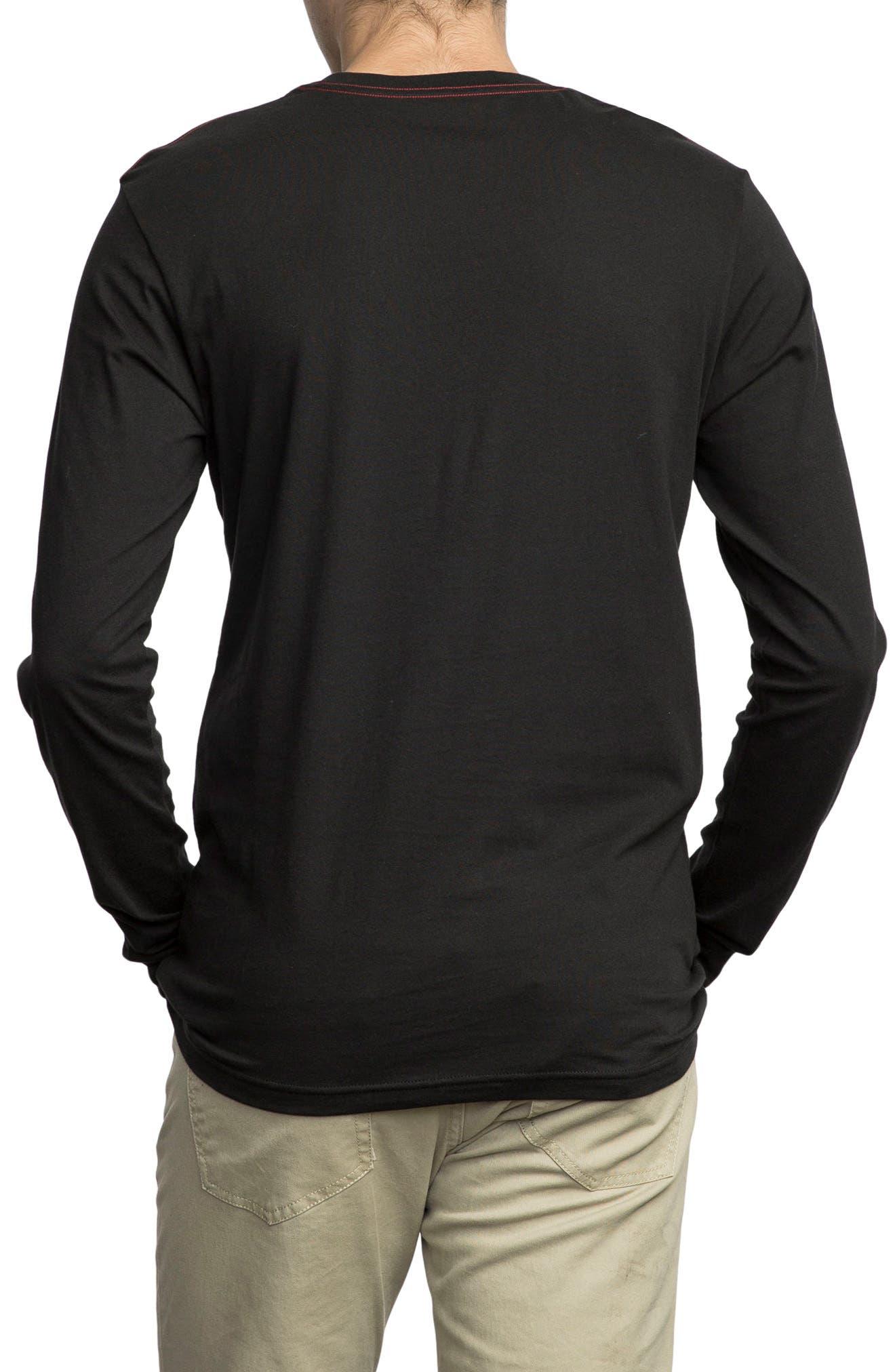 Big RVCA Graphic T-Shirt,                             Alternate thumbnail 2, color,                             001