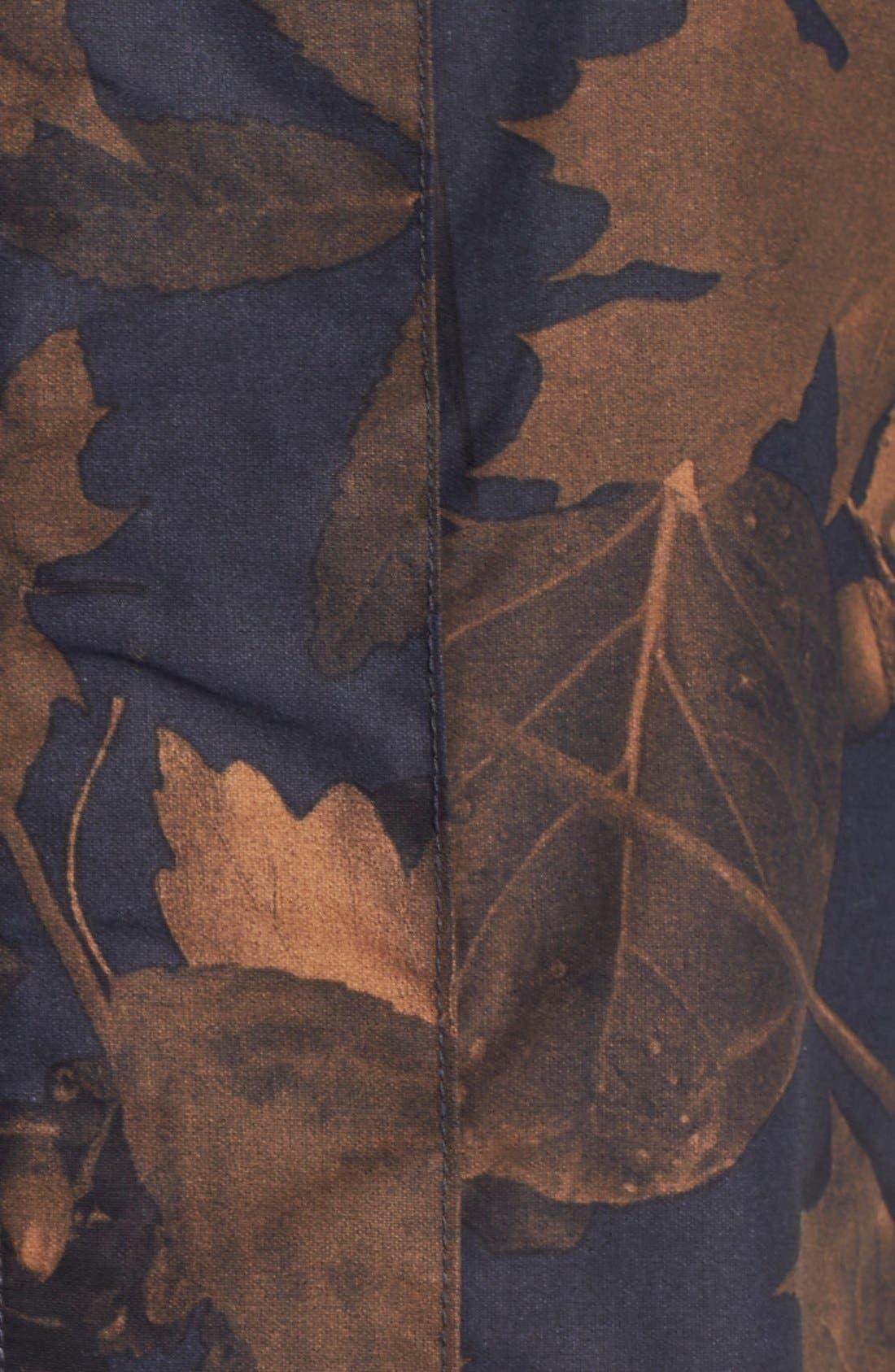 Originals Leaf Camouflage Print Parka,                             Alternate thumbnail 2, color,                             001