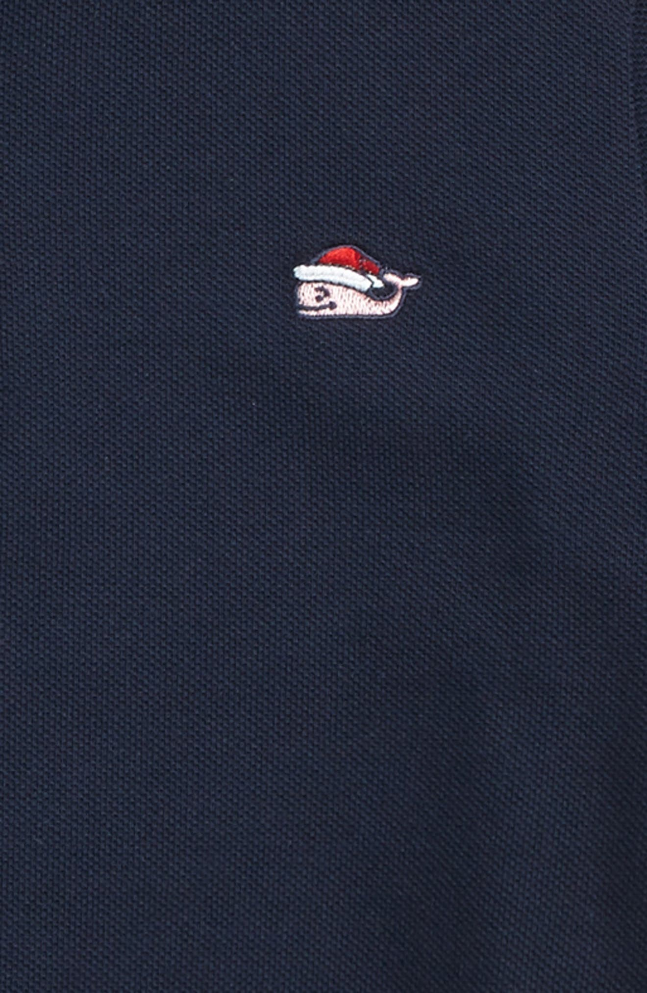 Santa Logo Pique Polo,                             Alternate thumbnail 2, color,                             410