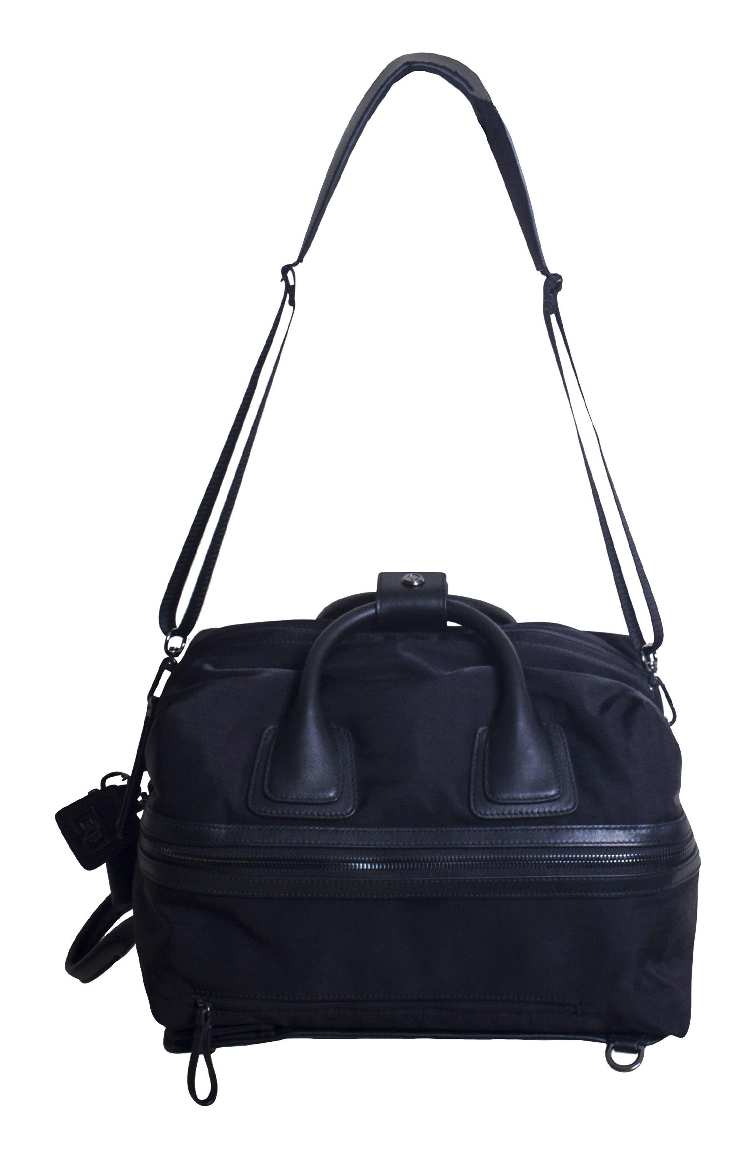 Studio Medium Duffel Backpack,                             Alternate thumbnail 9, color,                             BLACK