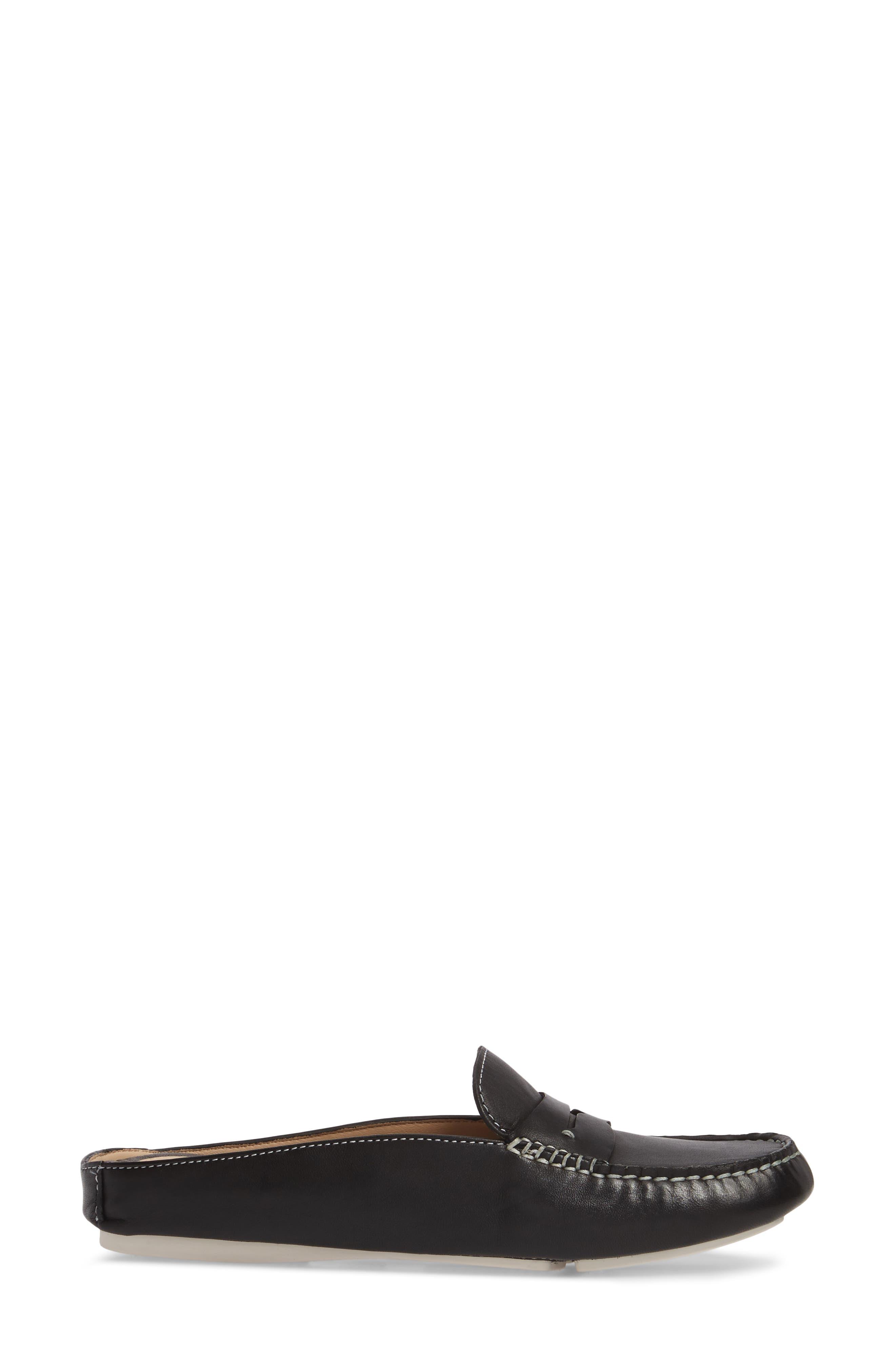 Myah Loafer Mule,                             Alternate thumbnail 3, color,                             001