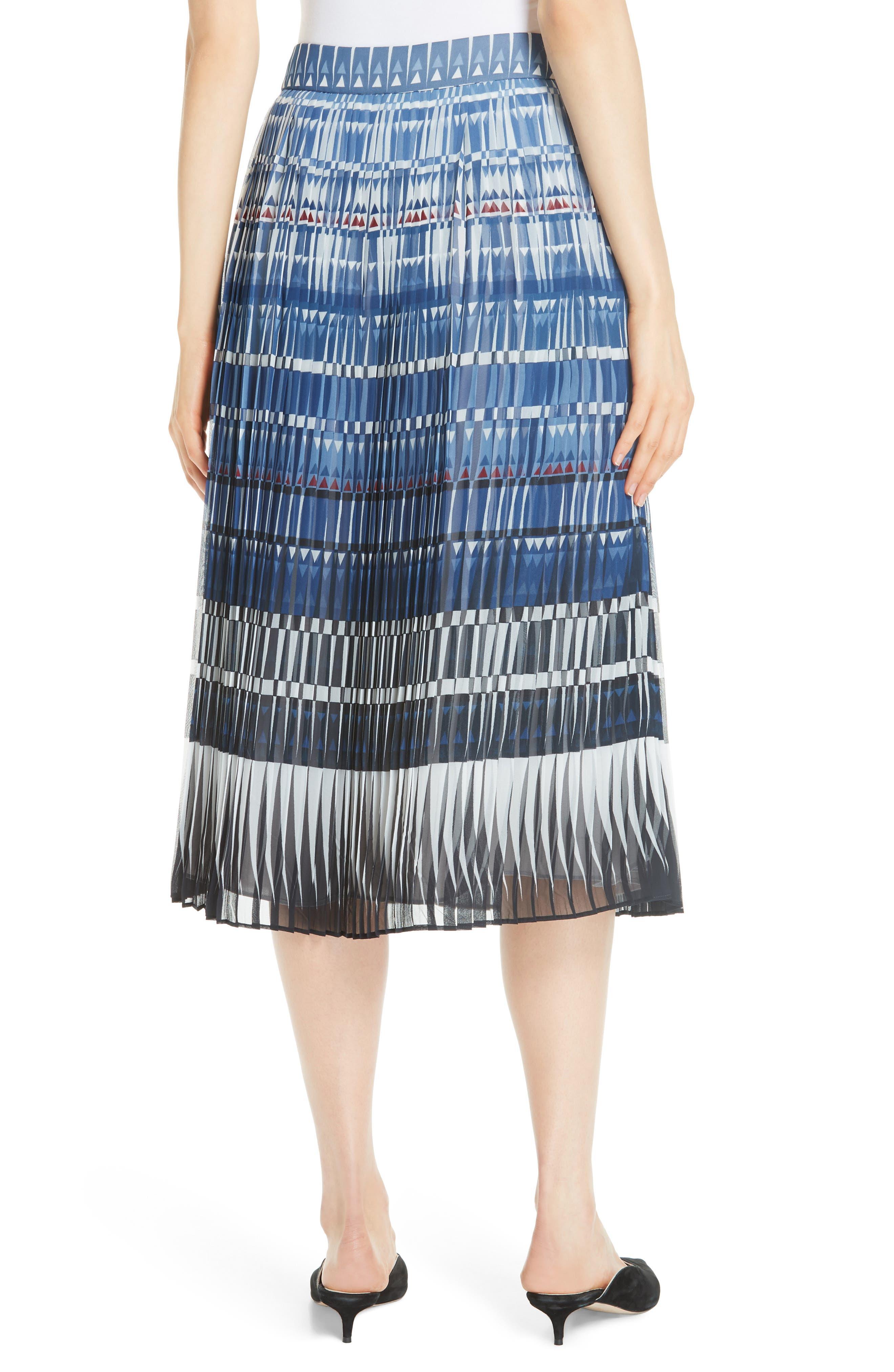 KATE SPADE NEW YORK,                             deco beale skirt,                             Alternate thumbnail 2, color,                             473
