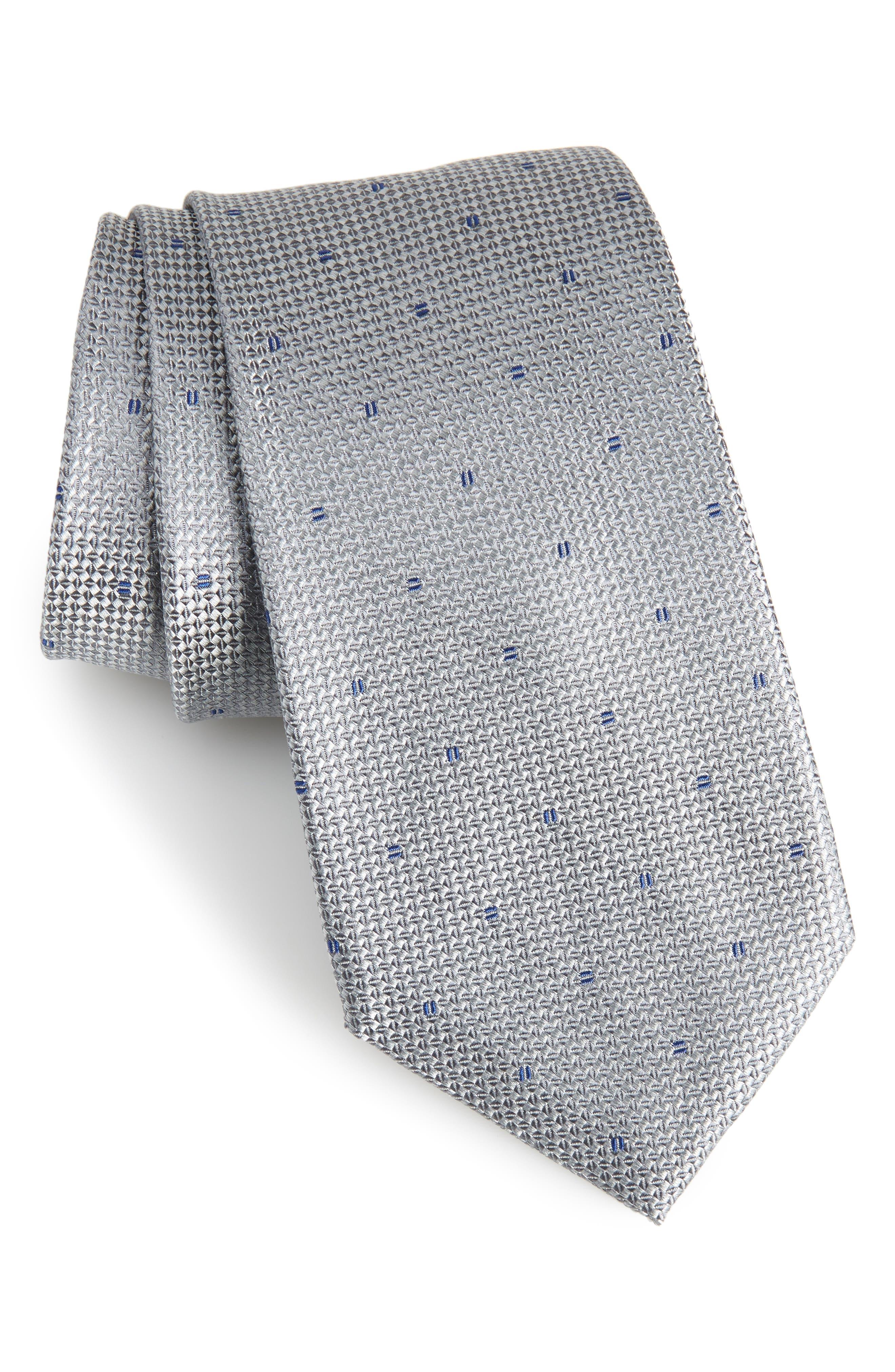 Mulroy Neat Silk Tie,                         Main,                         color,