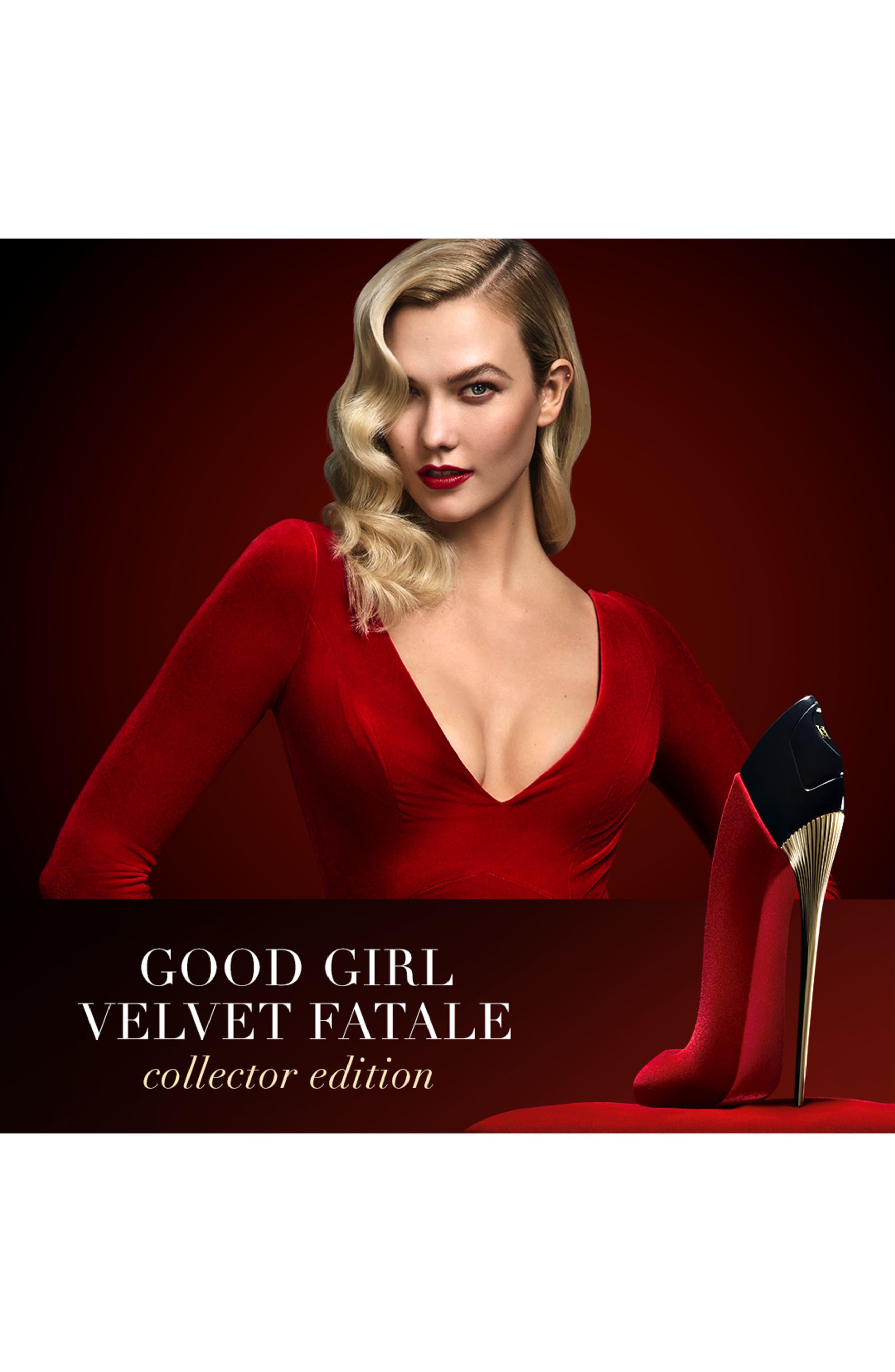 CAROLINA HERRERA,                             Good Girl Velvet Fatale Eau de Parfum Collector Edition,                             Alternate thumbnail 3, color,                             000