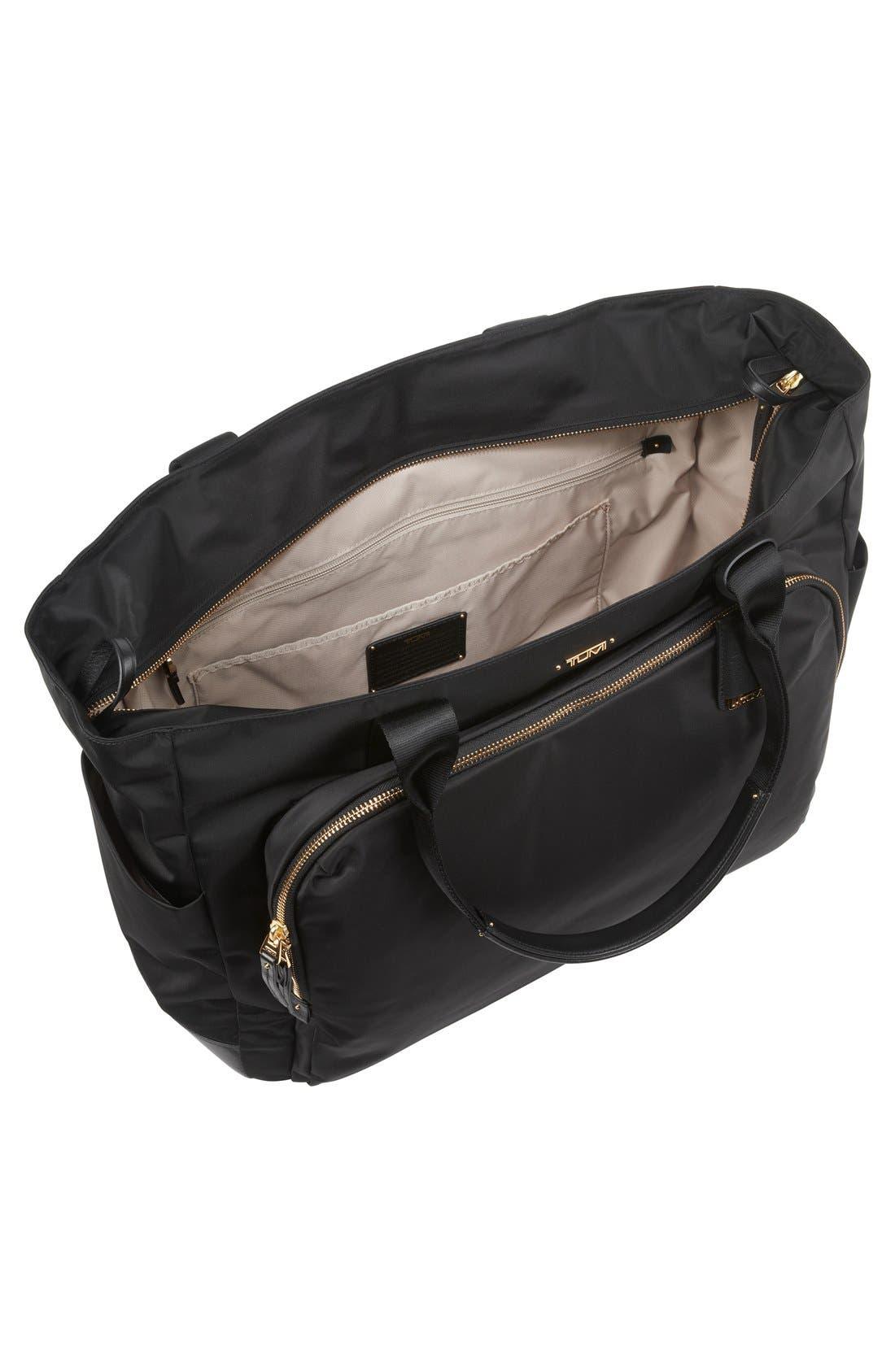 Mansion Shoulder Tote/Baby Bag,                             Alternate thumbnail 5, color,                             001