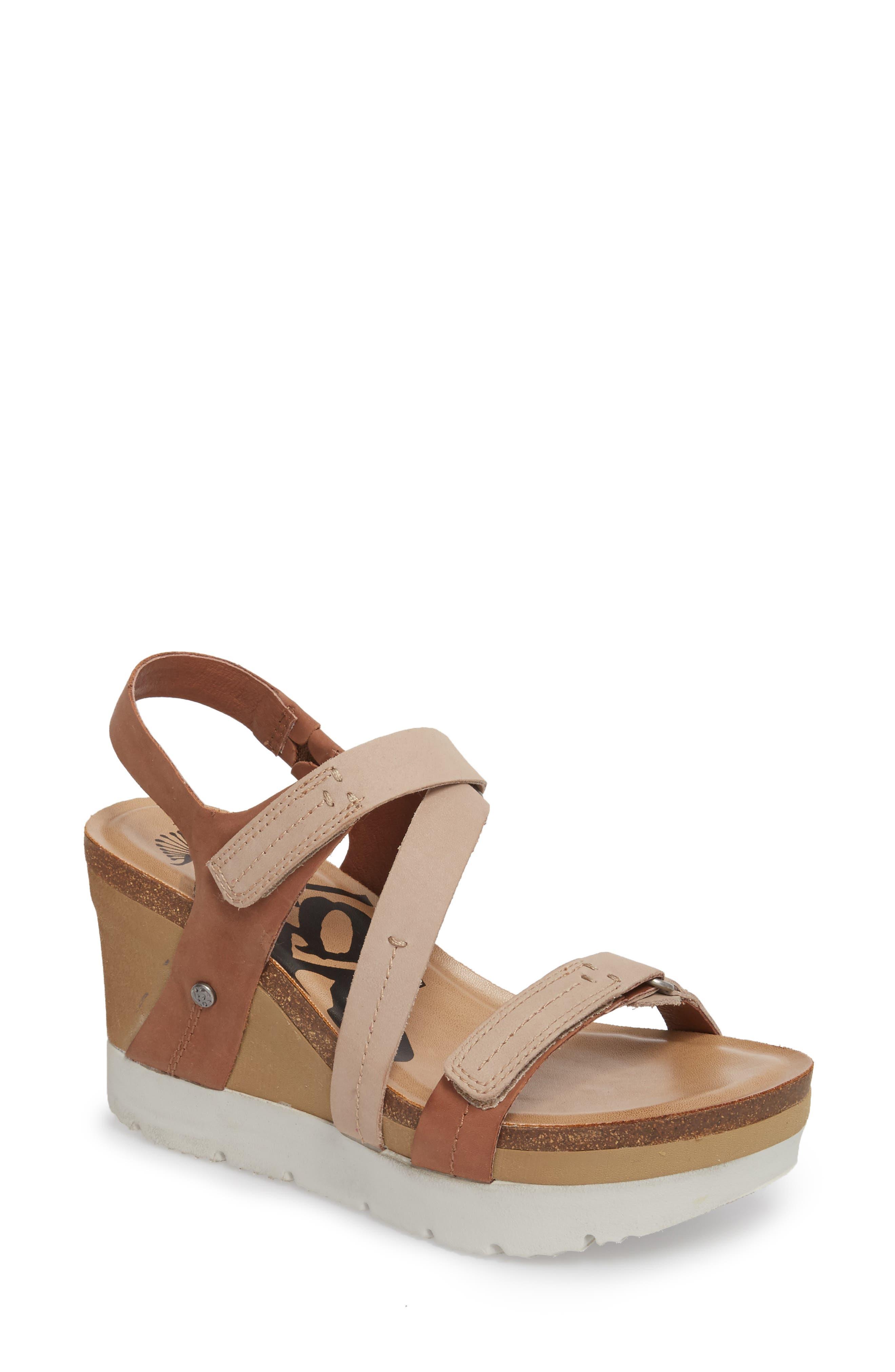 Wavey Wedge Sandal,                         Main,                         color, 214